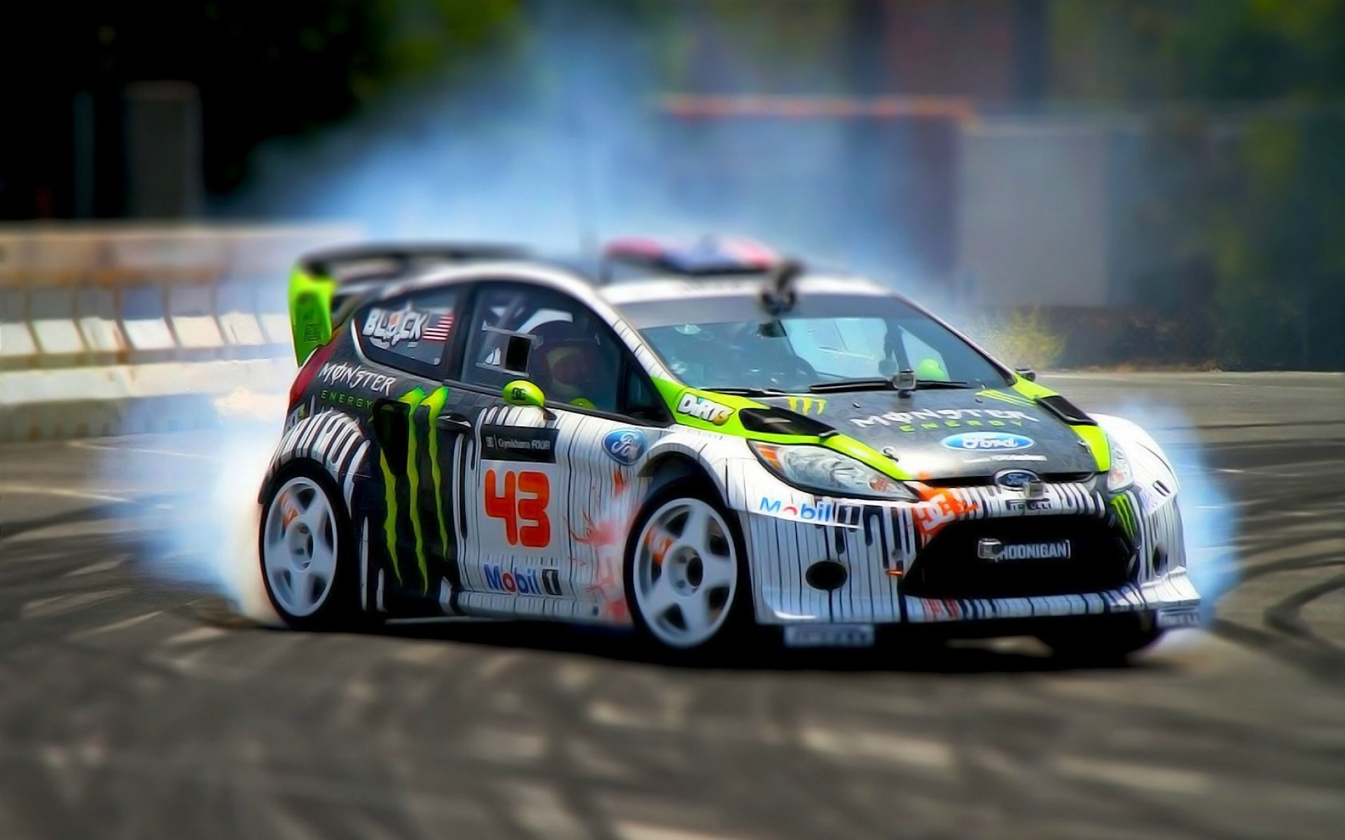 1920x1200 Ken Block Ford Fiesta Wallpaper - 158304