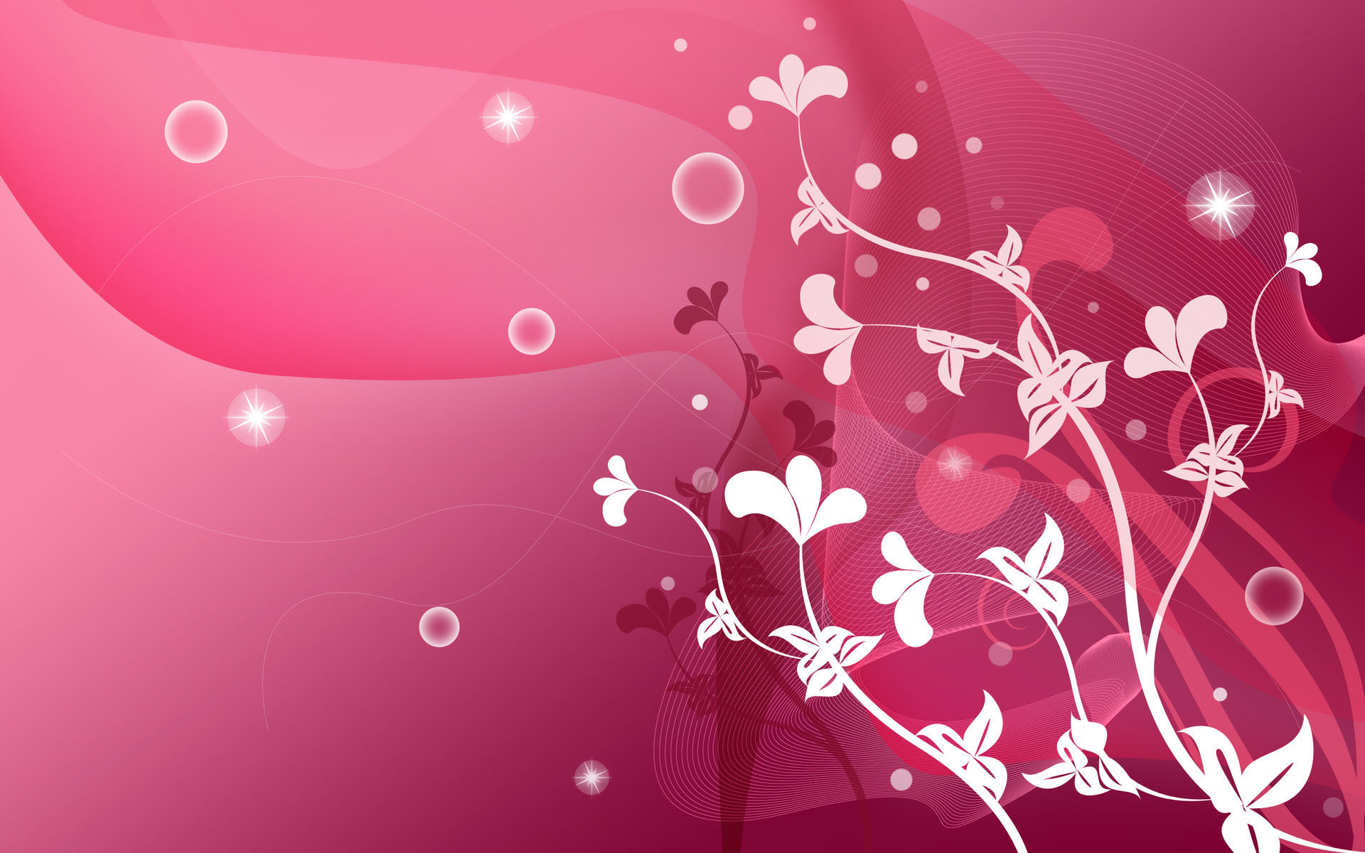 1920x1200 ... 40 Cool Pink Wallpapers for Your Desktop ...