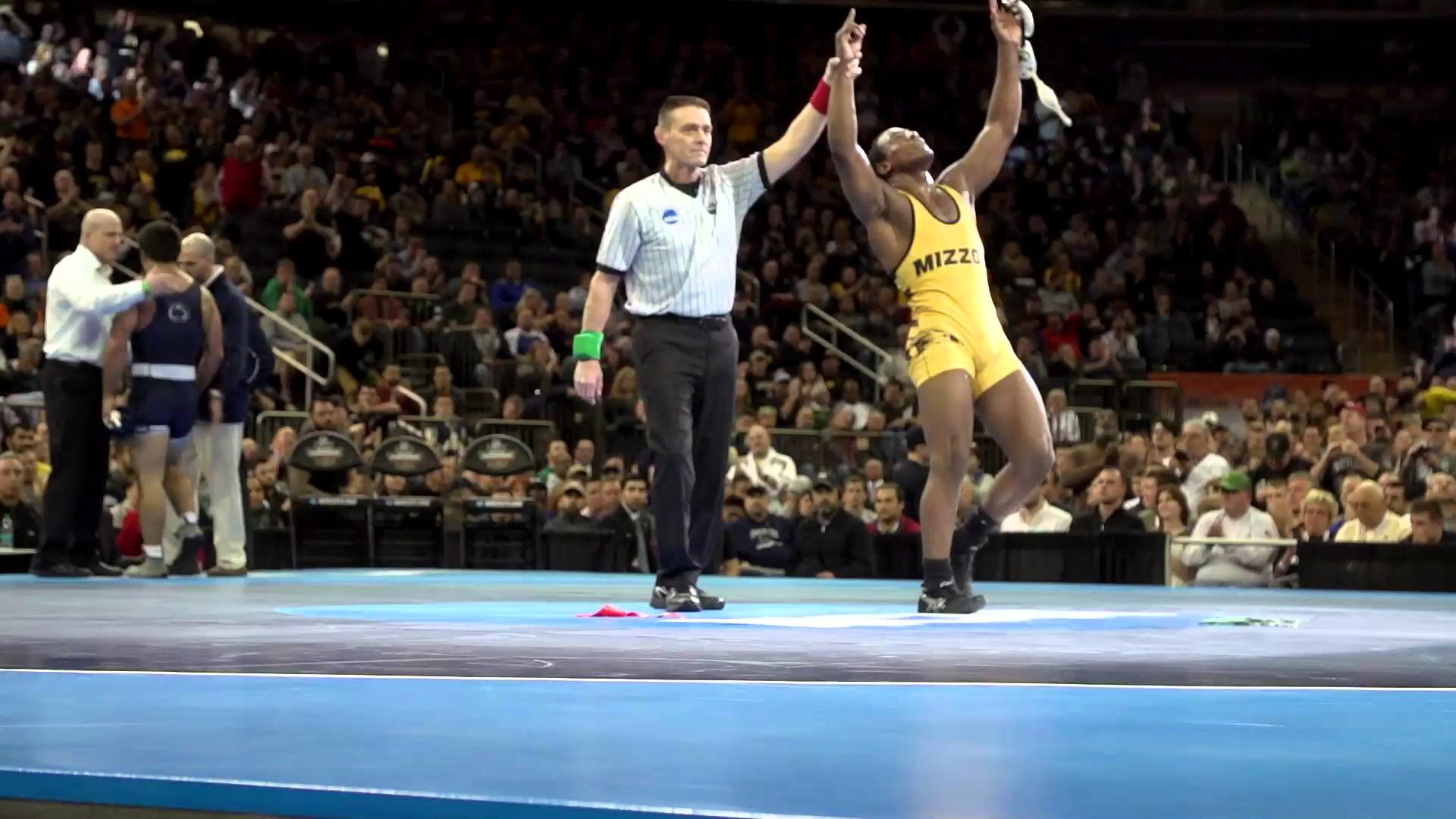 1920x1080 2016 NCAA DI Wrestling Championships: The Big Stage in the Big City