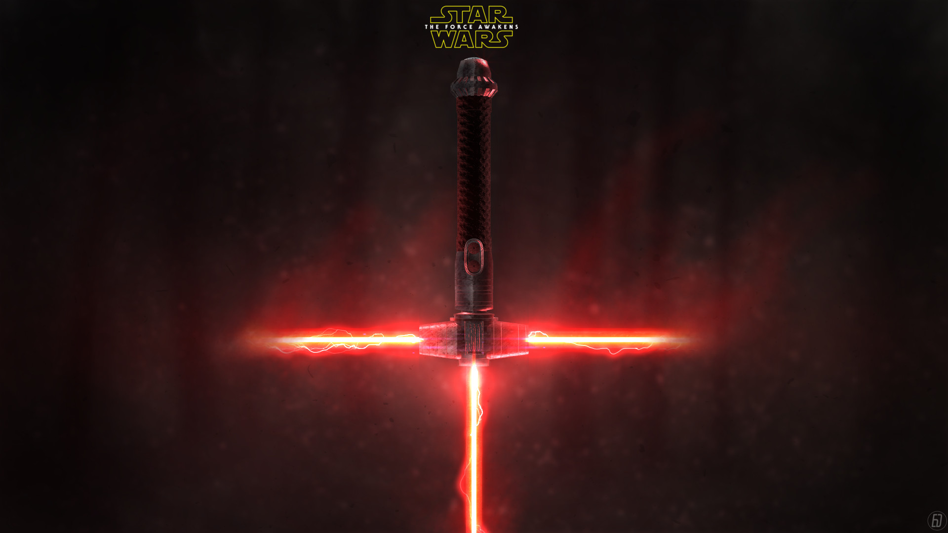 1920x1080 ... Star Wars: The Force Awakens New Lightsaber by spiritdsgn