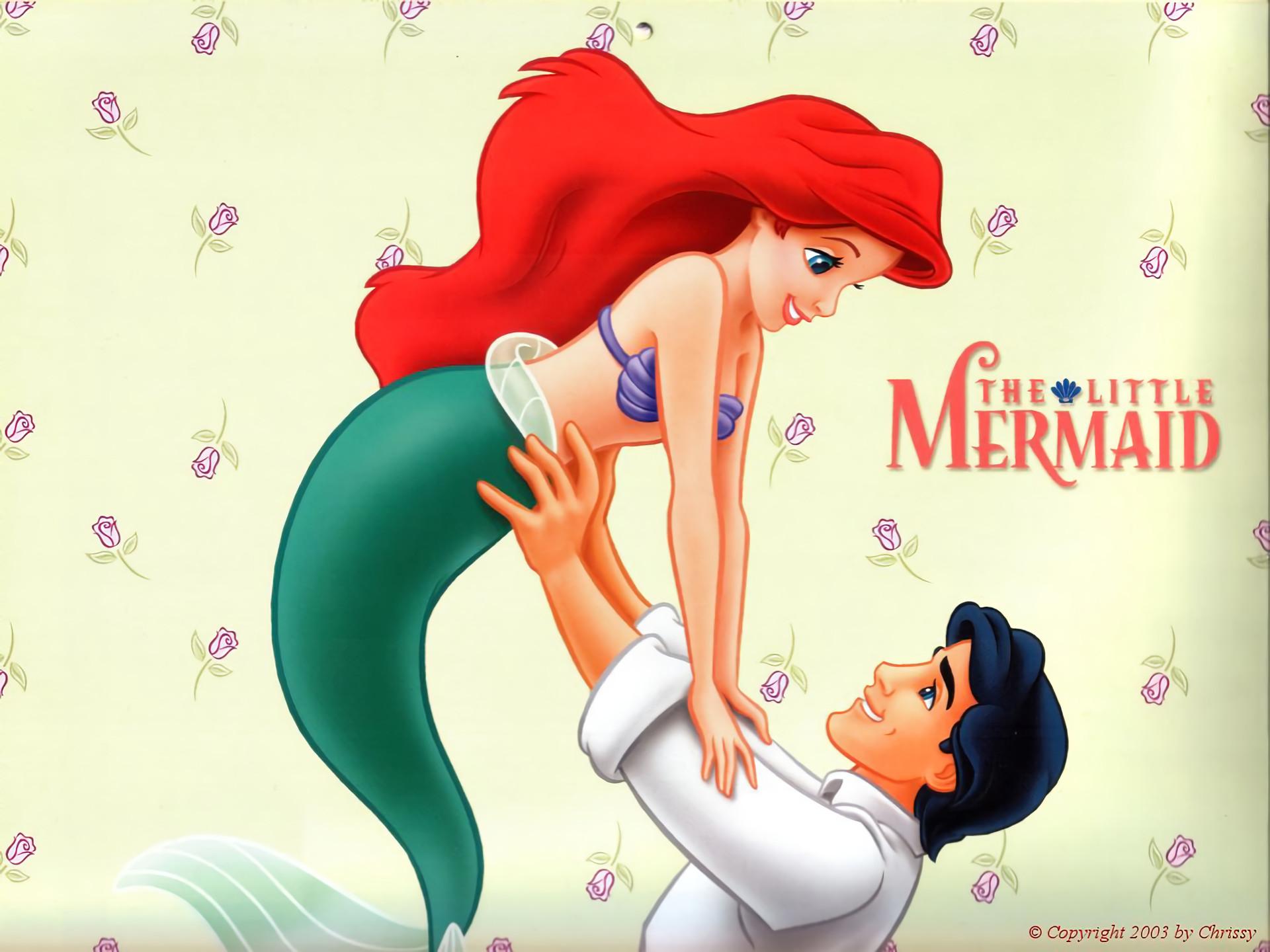 2560x1440 Disney The Little Mermaid Ariel Floral Princess Iphone