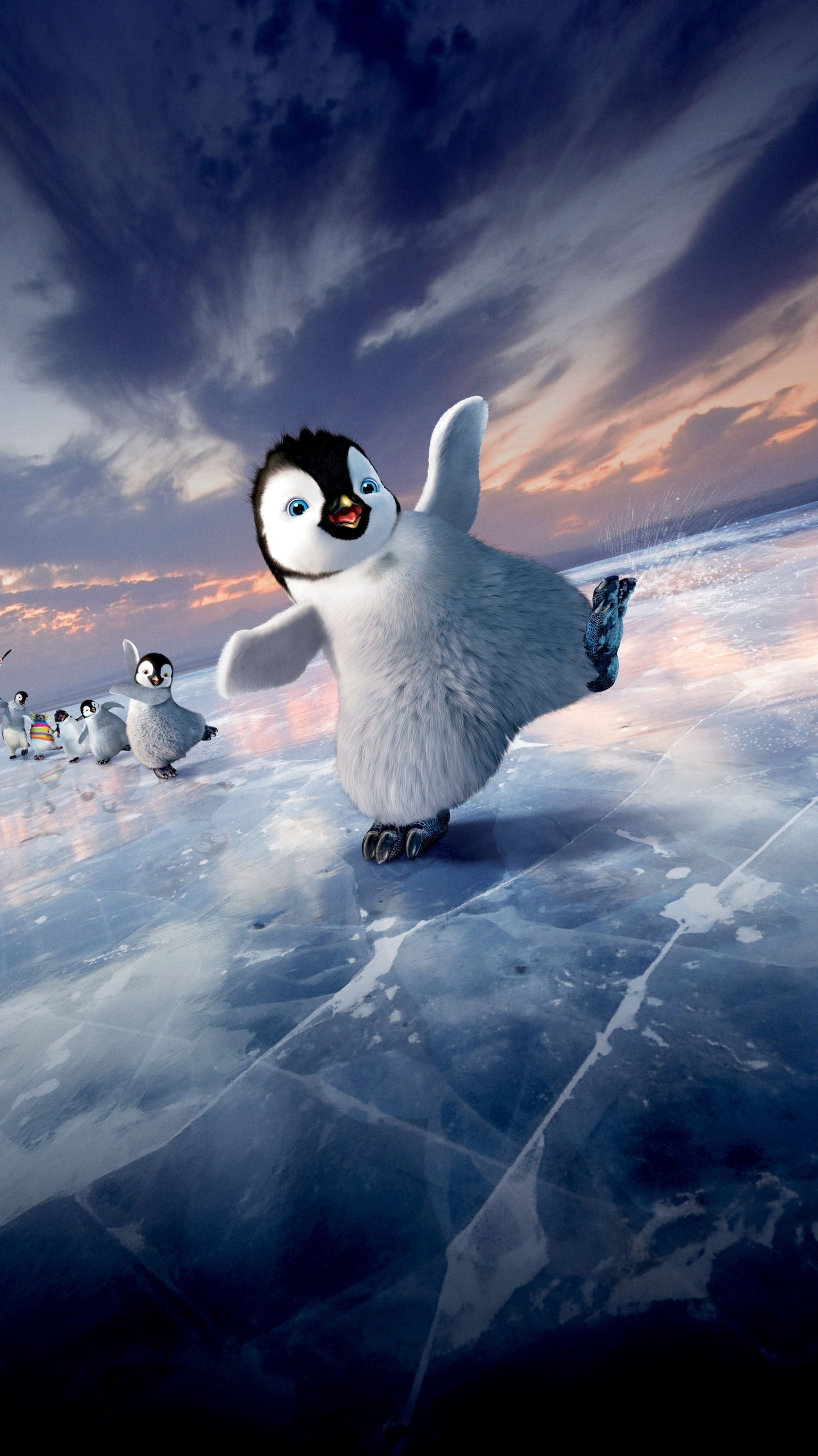 1536x2733 Happy Feet Two (2011) Phone Wallpaper