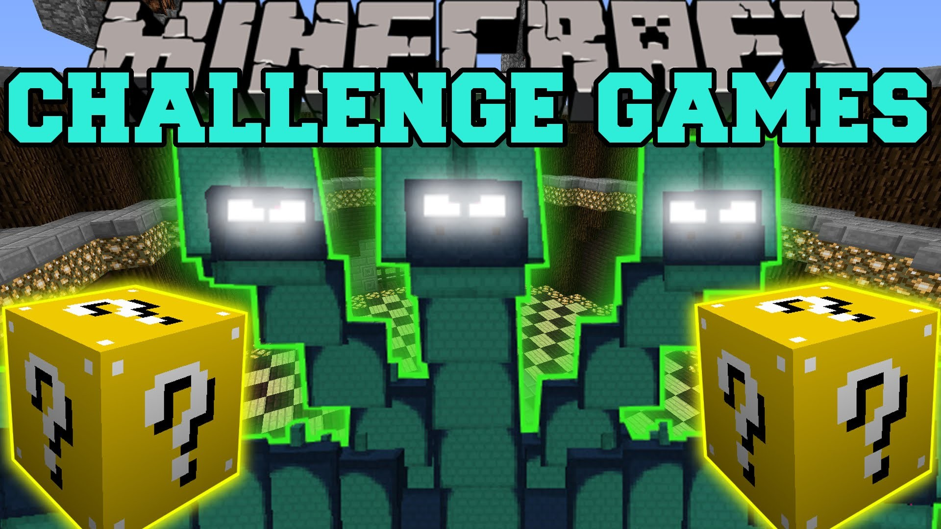 1920x1080 Minecraft: HYDRA CHALLENGE GAMES - Lucky Block Mod - Modded Mini-Game -  YouTube