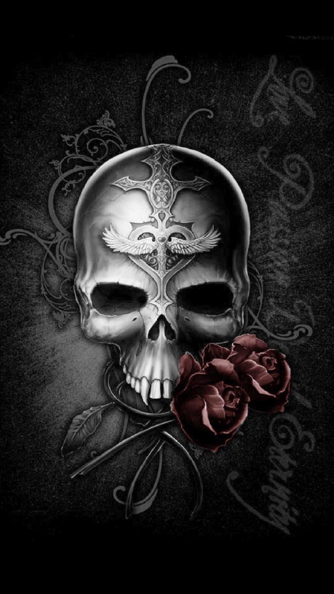 Badass skull wallpaper 68 images 1920x1080 explore skull wallpaper voltagebd Choice Image