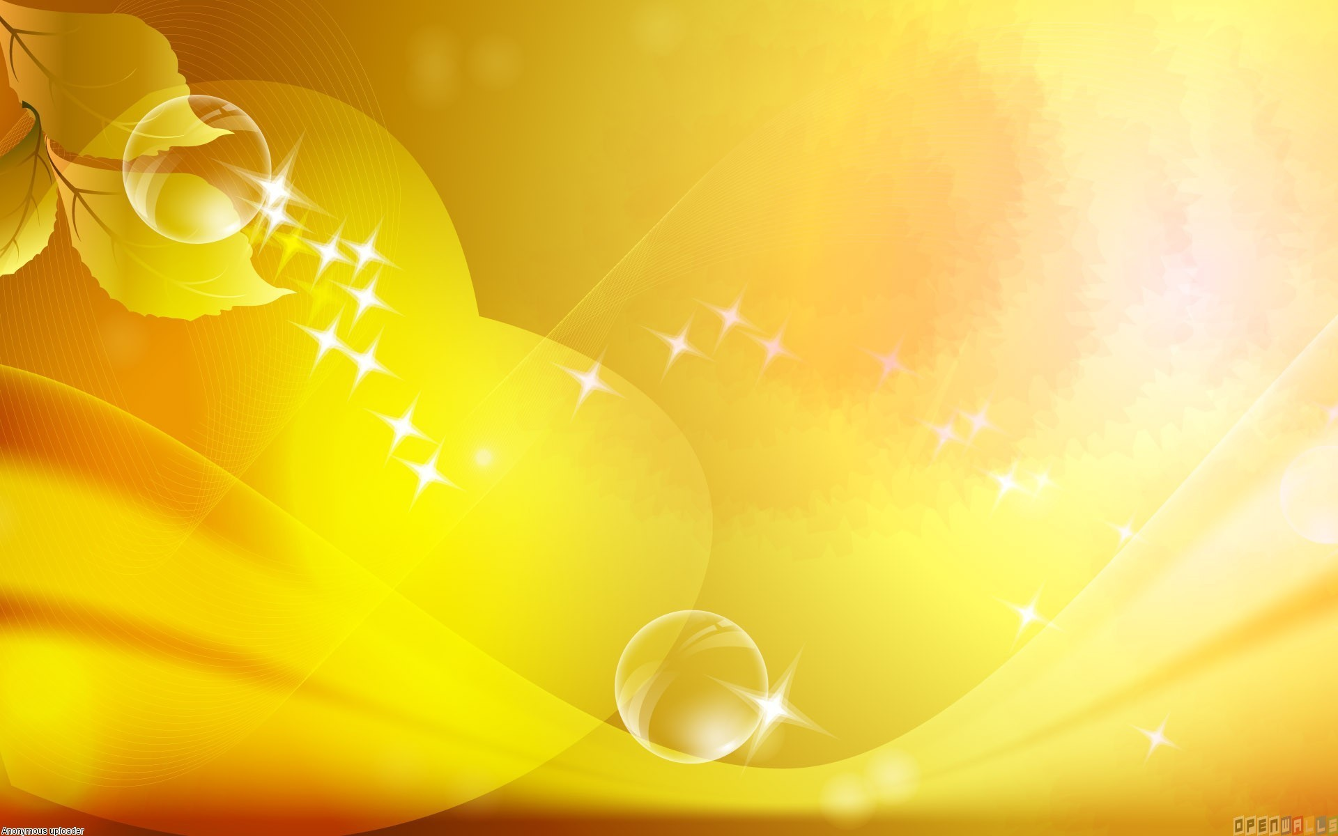 1920x1200 Yellow Background wallpaper - 342361