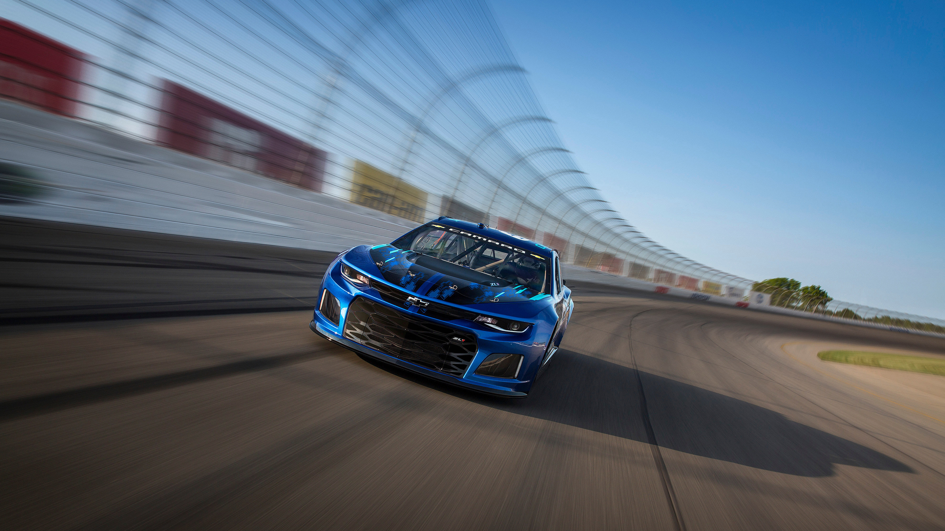 3600x2025 2018 Chevrolet Camaro ZL1 Nascar Race Car 2
