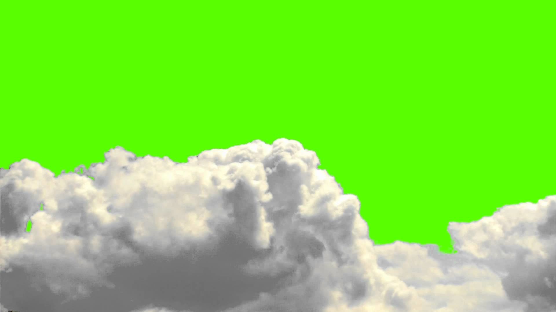 1920x1080 Real Clouds on a Green Screen Background - Free Royalty Stock Footage and  Animation.mp4 - YouTube
