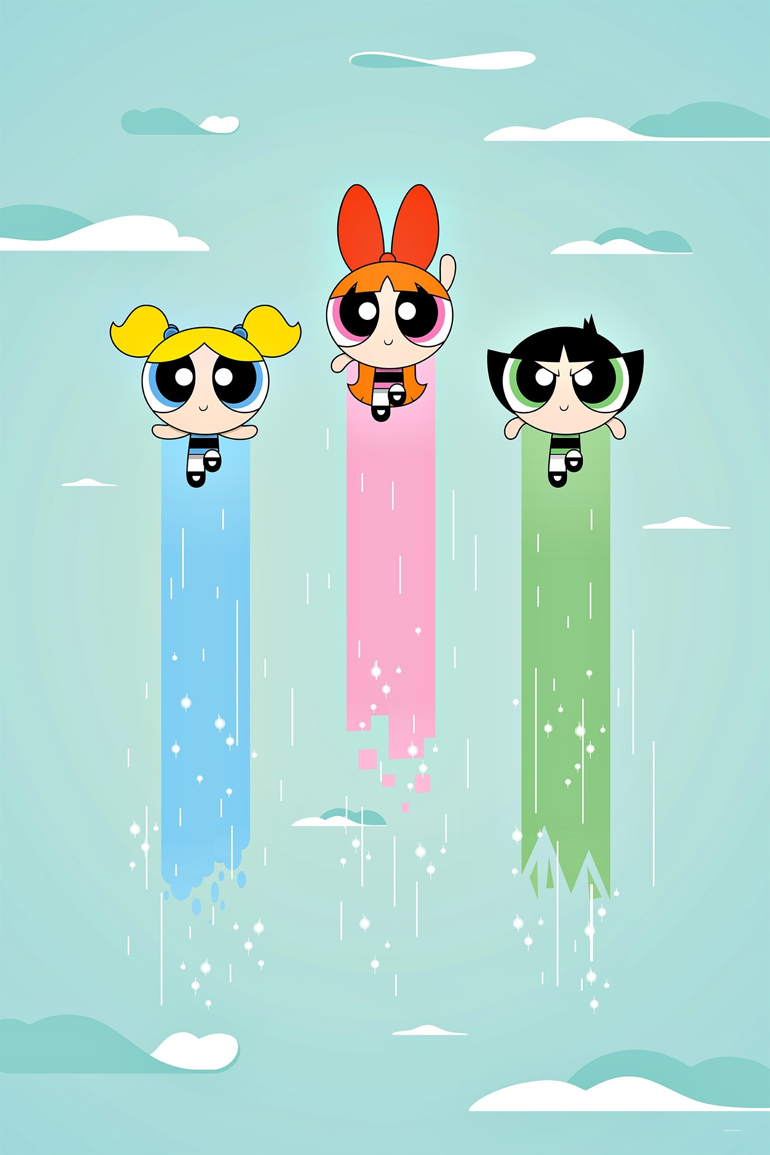 1500x2250 THE POWERPUFF GIRLS