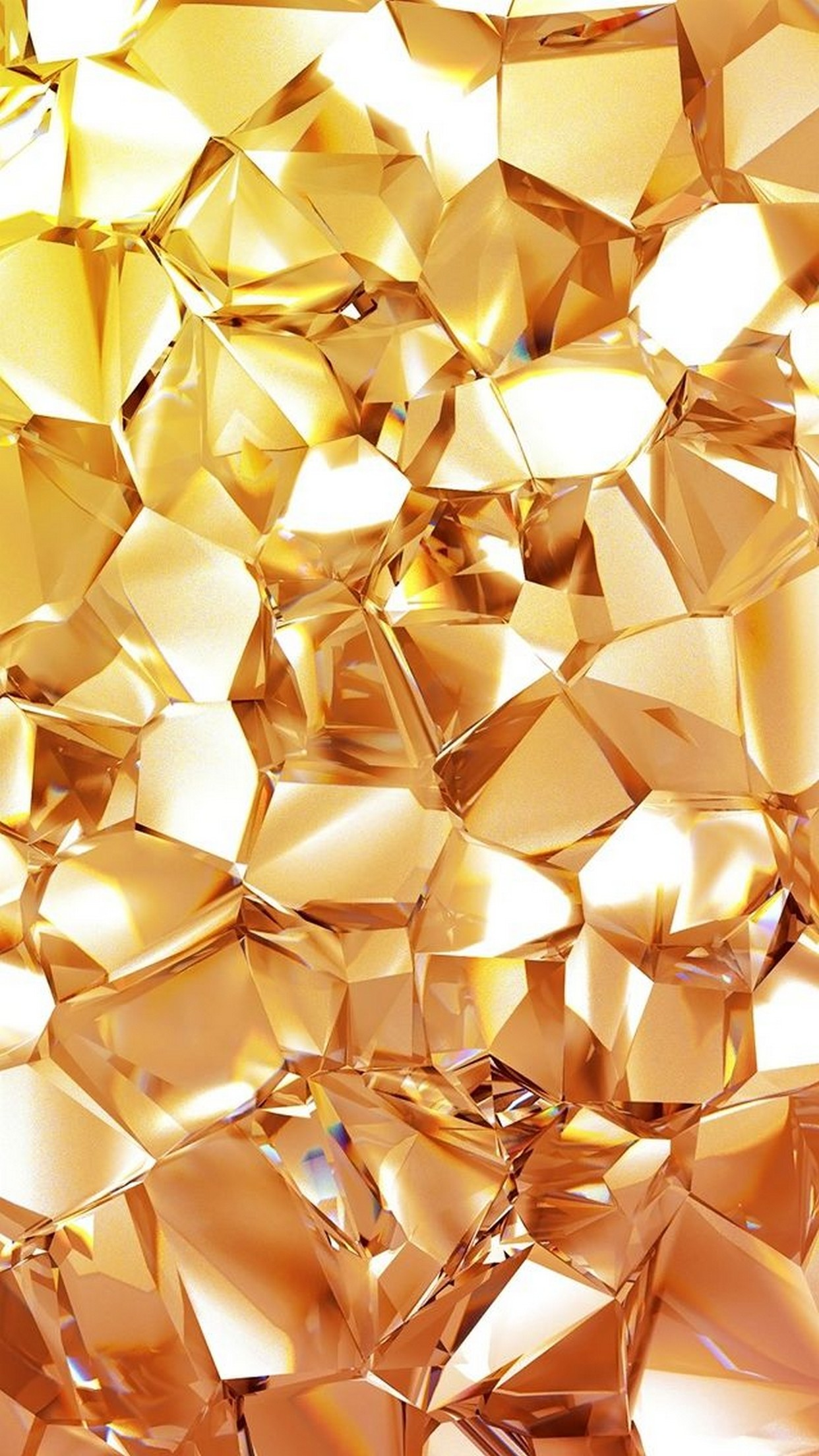2048x1152 Pink Diamond Glitter Wallpaper