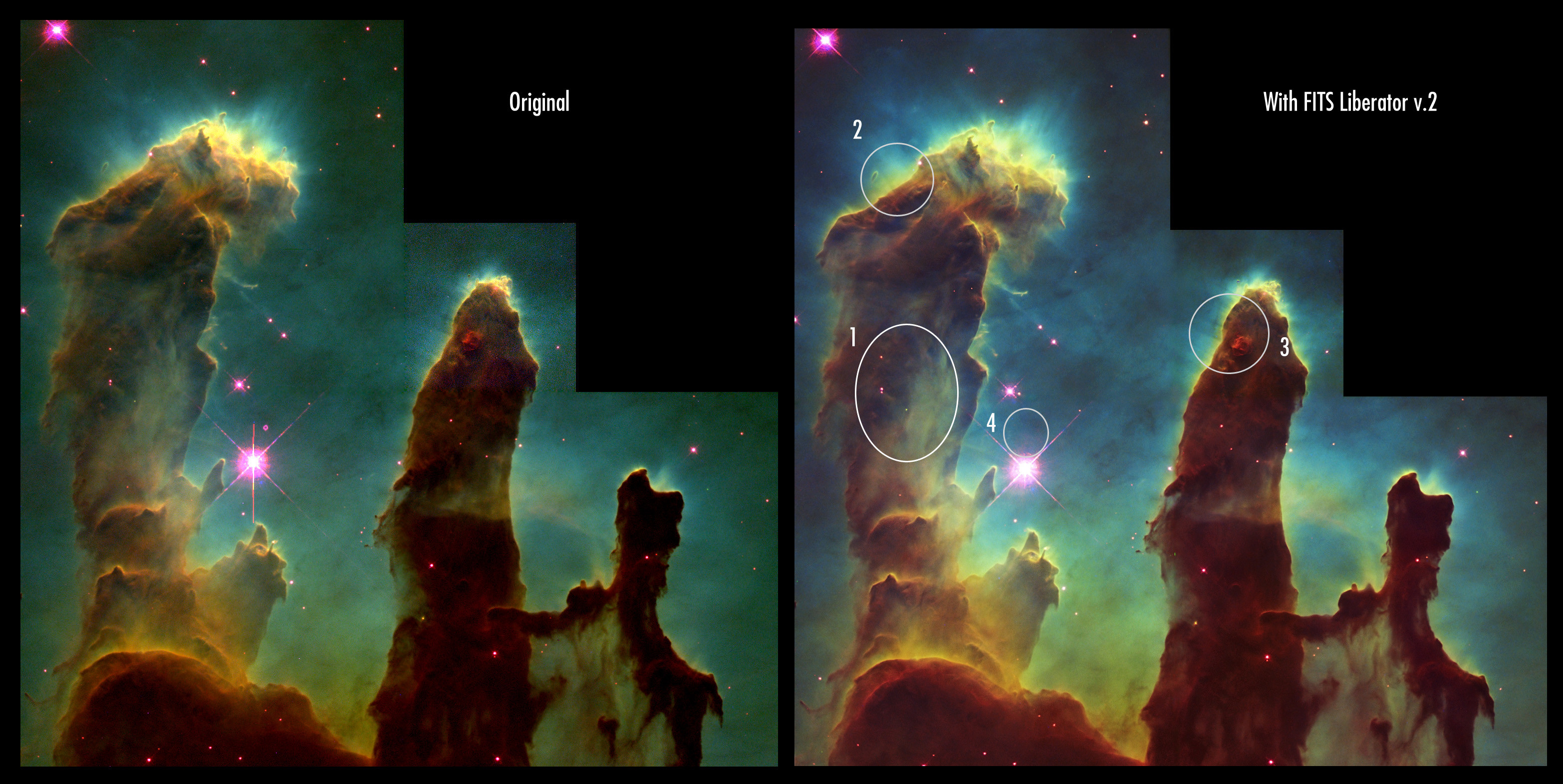 3132x1572 ... hubble pillars of creation wallpaper wallpapersafari ...