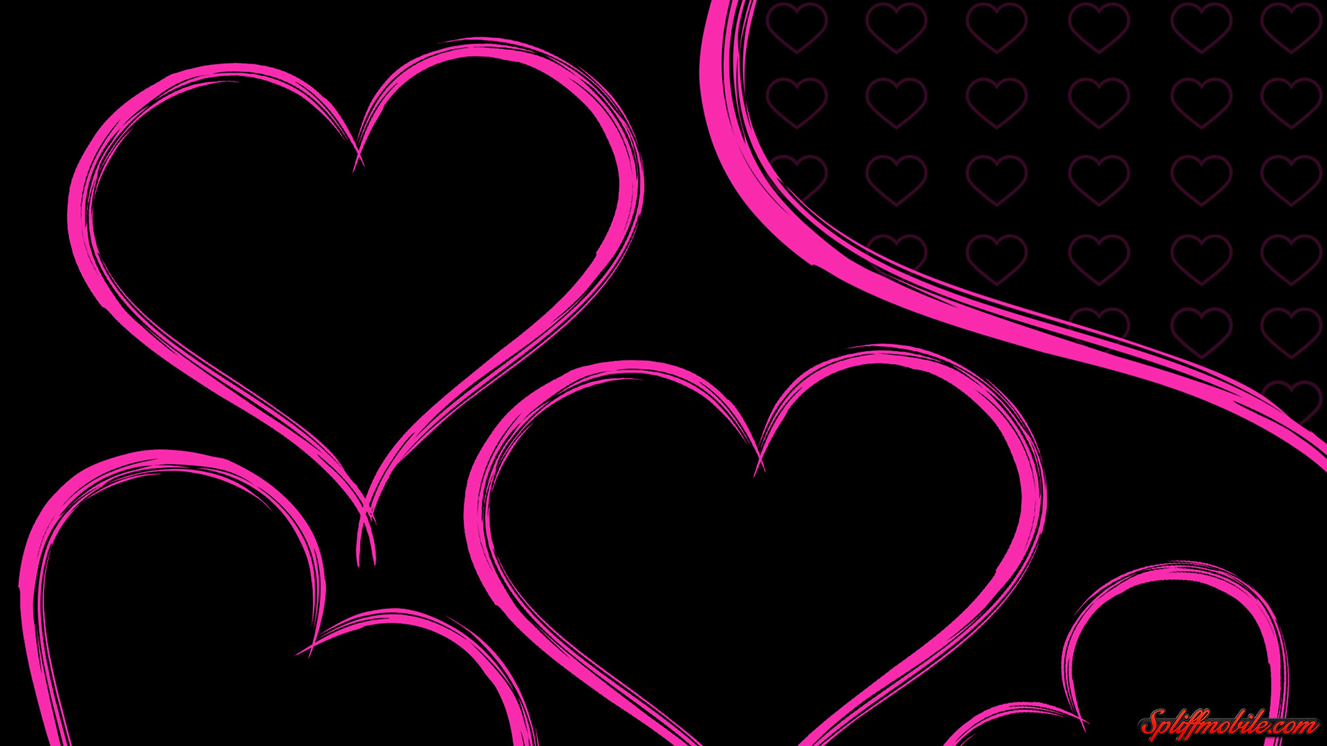 1920x1080 Hearts Wallpaper HD