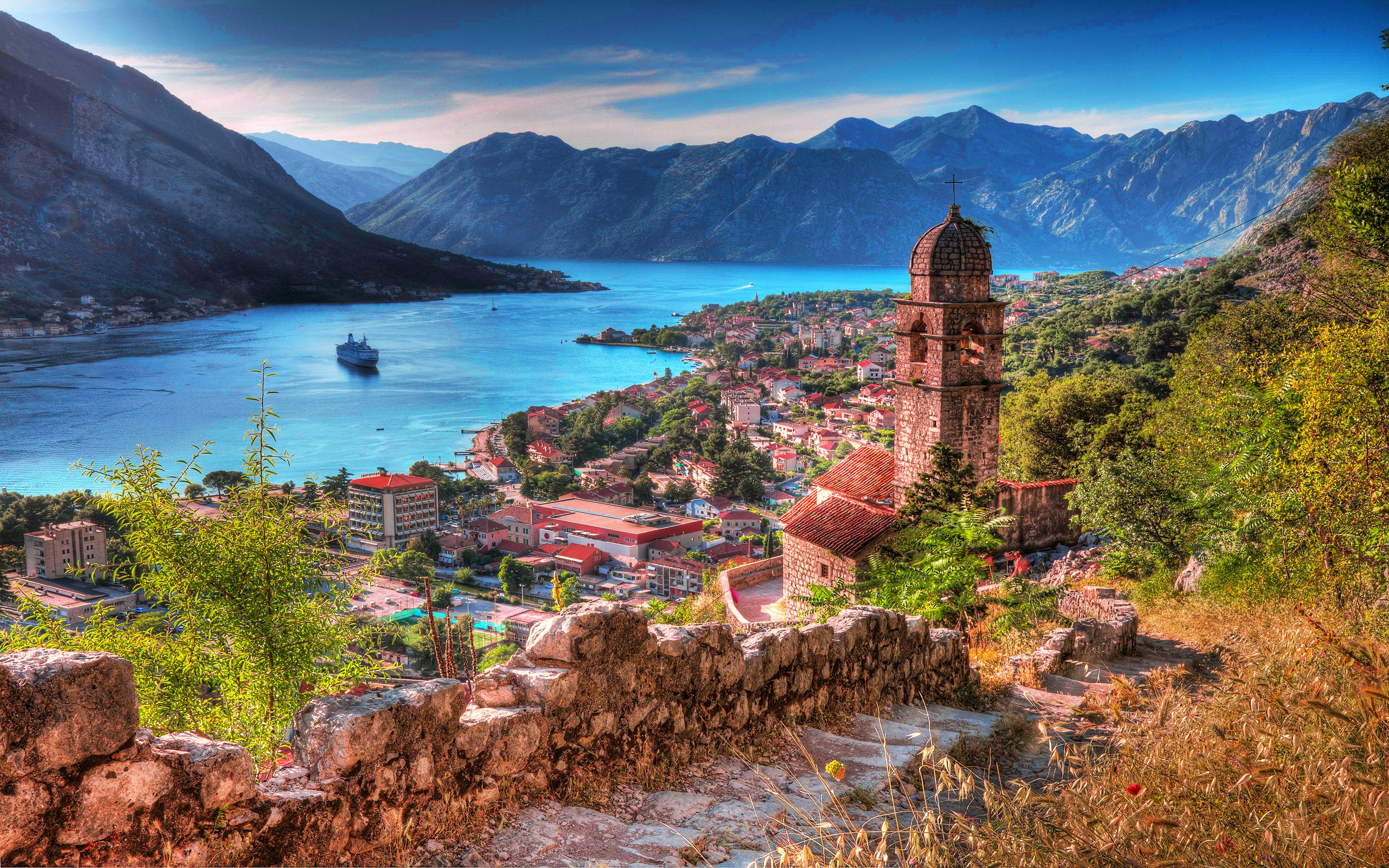 2560x1600 Town of Kotor in Montenegro HD Wallpaper | Hintergrund |  |  ID:705700 - Wallpaper Abyss