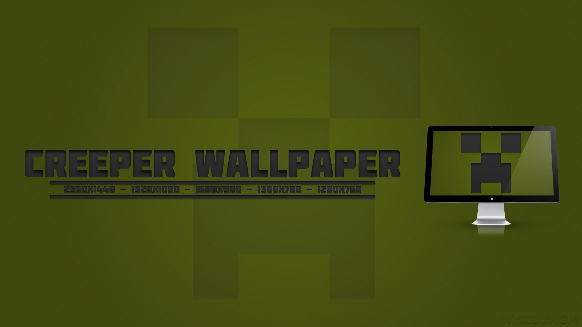 1920x1080 Minecraft Creeper Wallpapers for Computer HD Wallpaper
