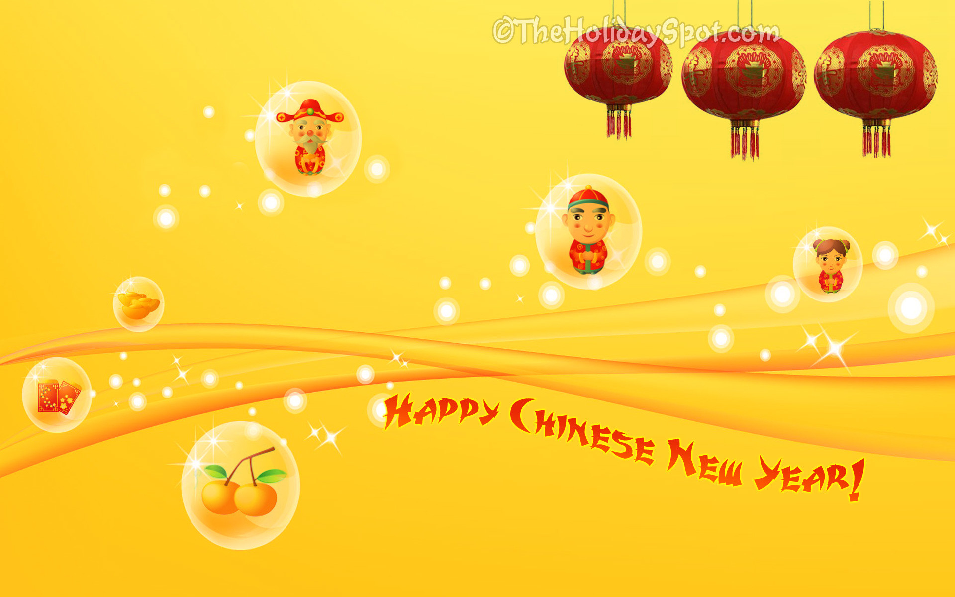 1920x1200 Happy Chinese New Year