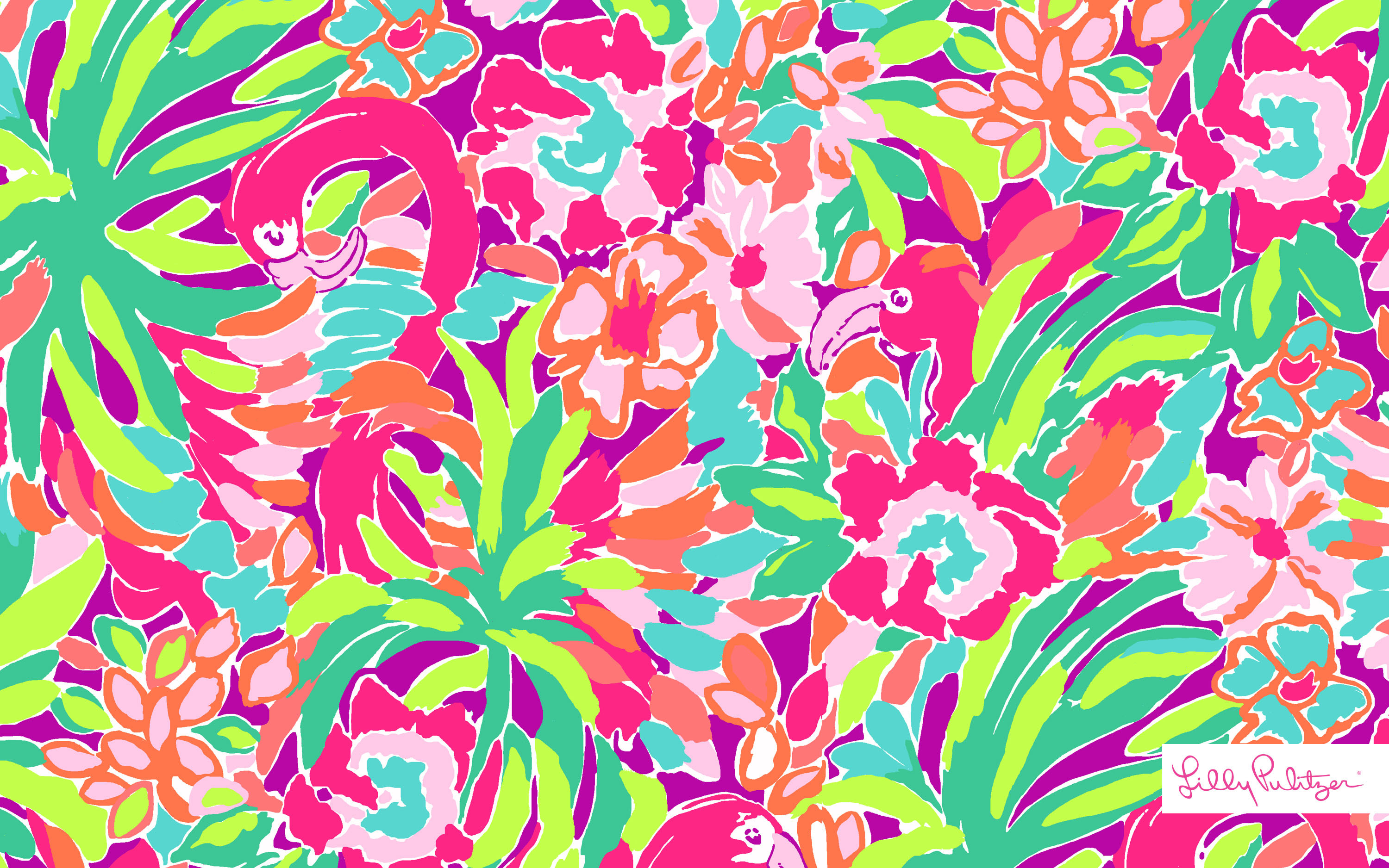 3000x1876 Lilly Pulitzer Iphone Wallpaper
