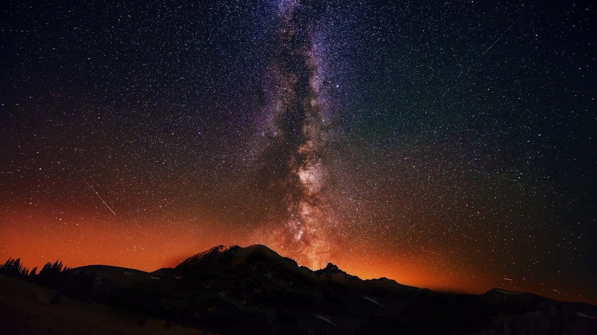 1920x1080 Galaxy Tag - Star Gazing Milky Way Galaxy Twilight COSOMS BEAUTY AWESOME  Sky Desktop Download for