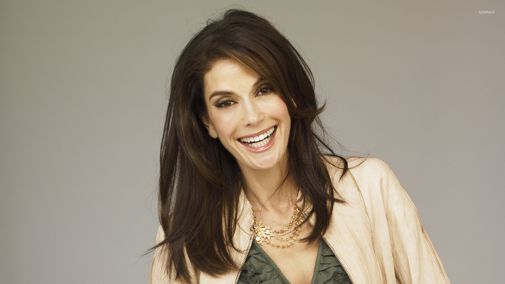 1920x1080 Teri Hatcher with beautiful smile wallpaper