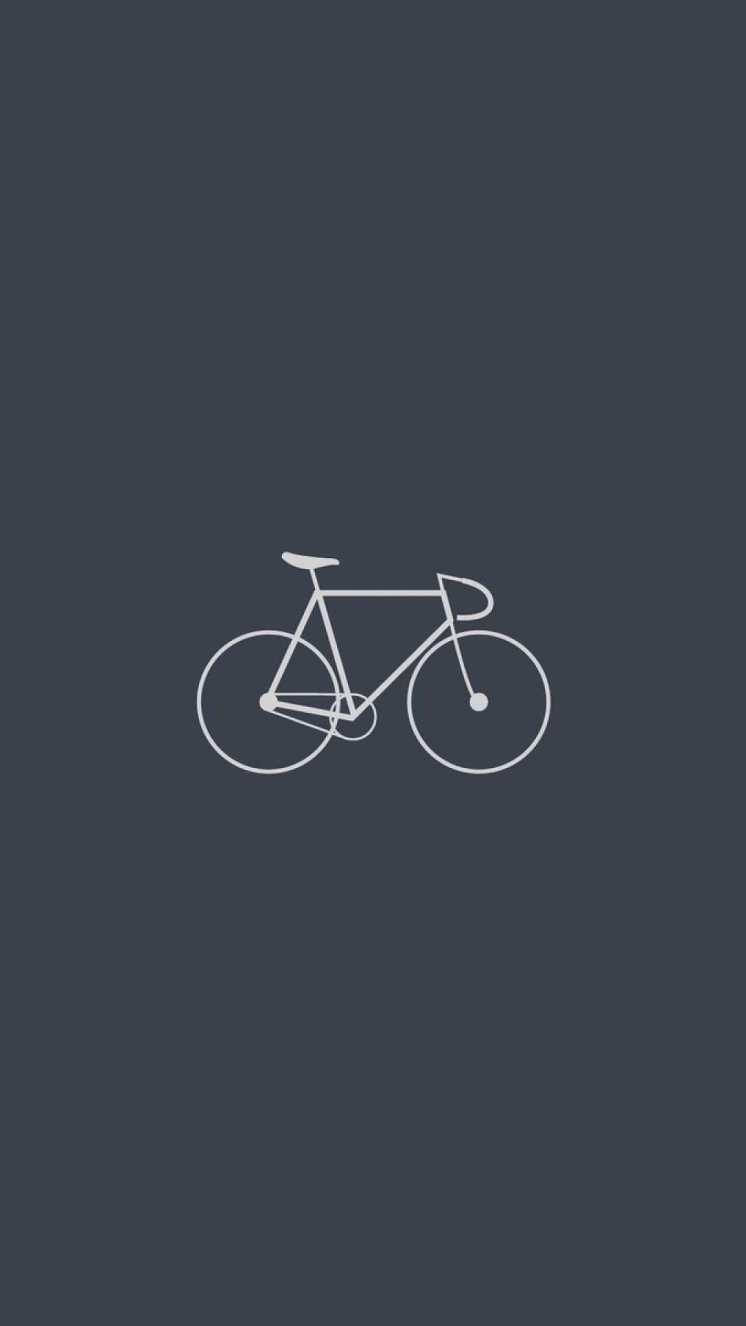 1080x1920 Preview Wallpaper Bicycle, Minimalism, Gray