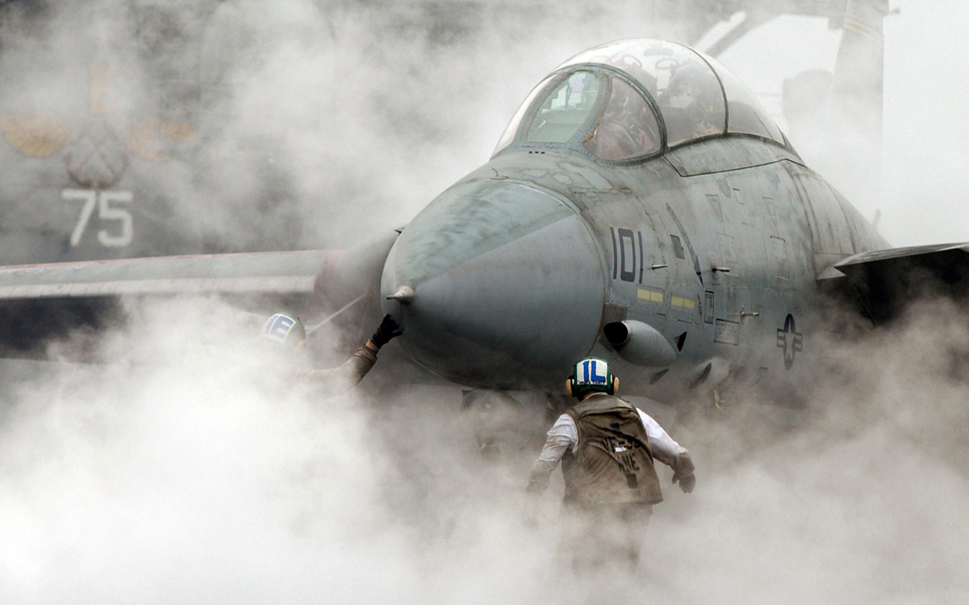 1920x1200 wallpaper f 14 tomcat fighter aircraft plane smoke aircraft