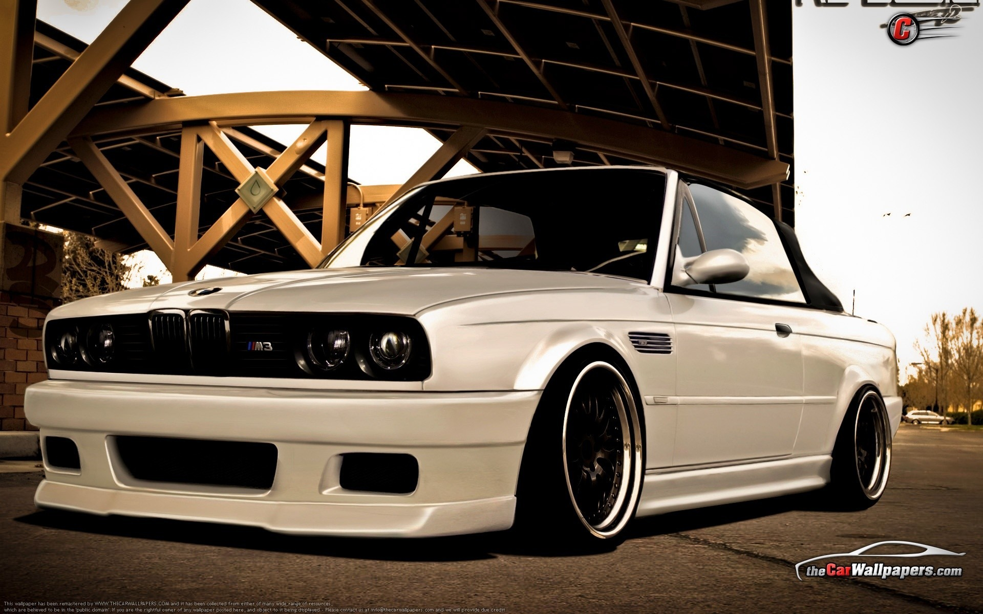 1920x1200 Bmw cars sport cars white cars bmw e30 wallpaper  12143