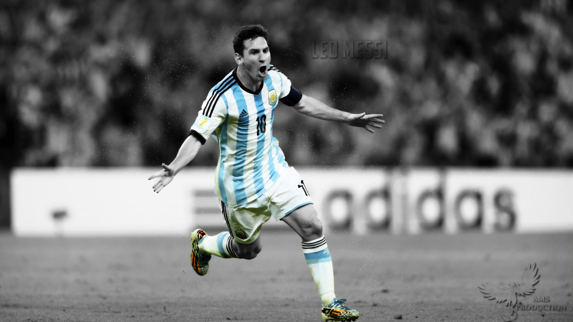 1920x1080 Leo Messi Argentina World Cup Celebration