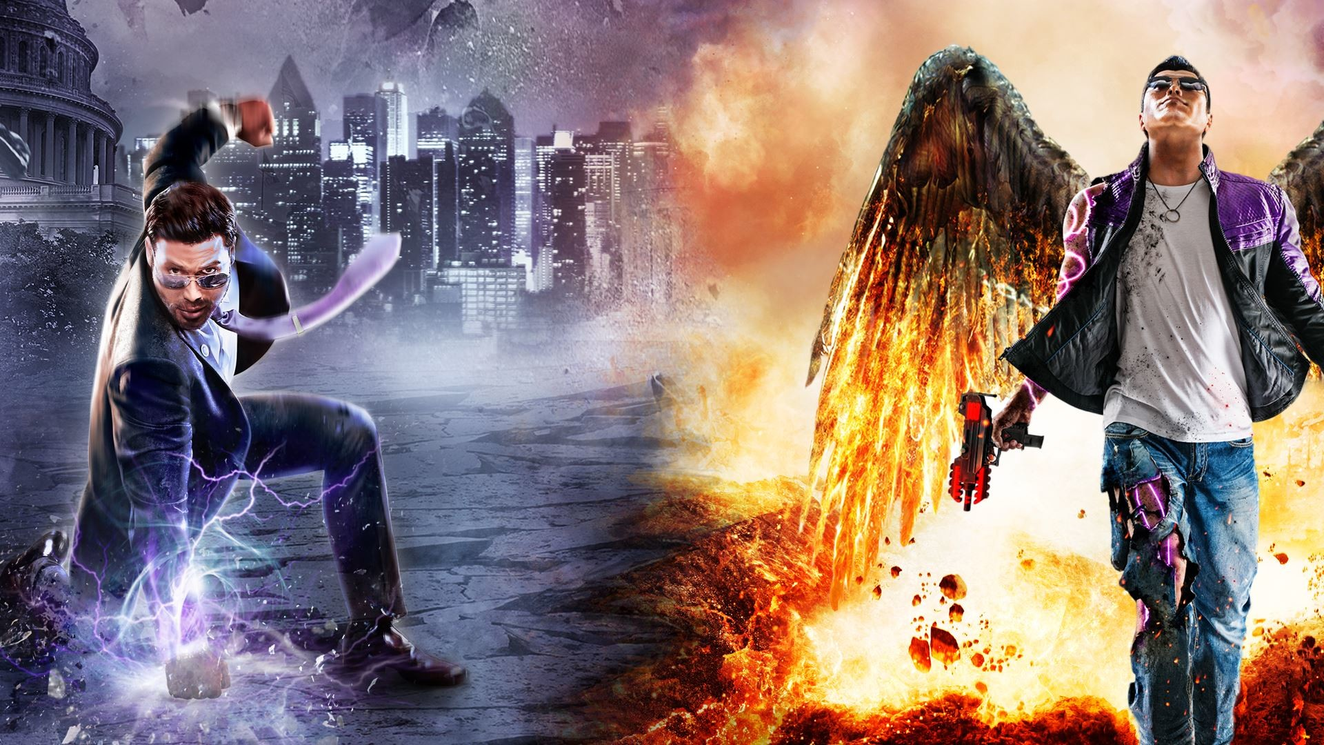 1920x1080 Video Game - Saints Row: Gat Out Of Hell Wallpaper