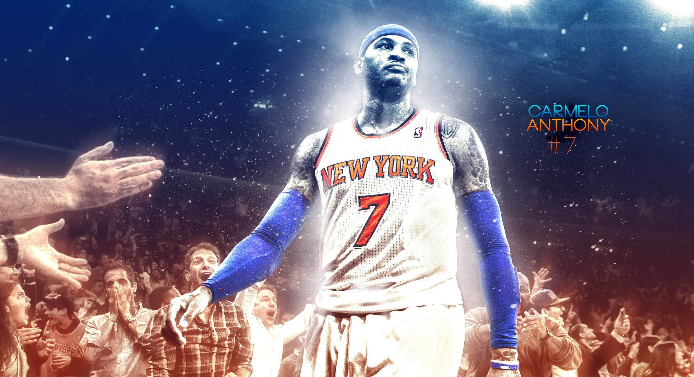 2650x1440 carmelo anthony wallpaper #434781