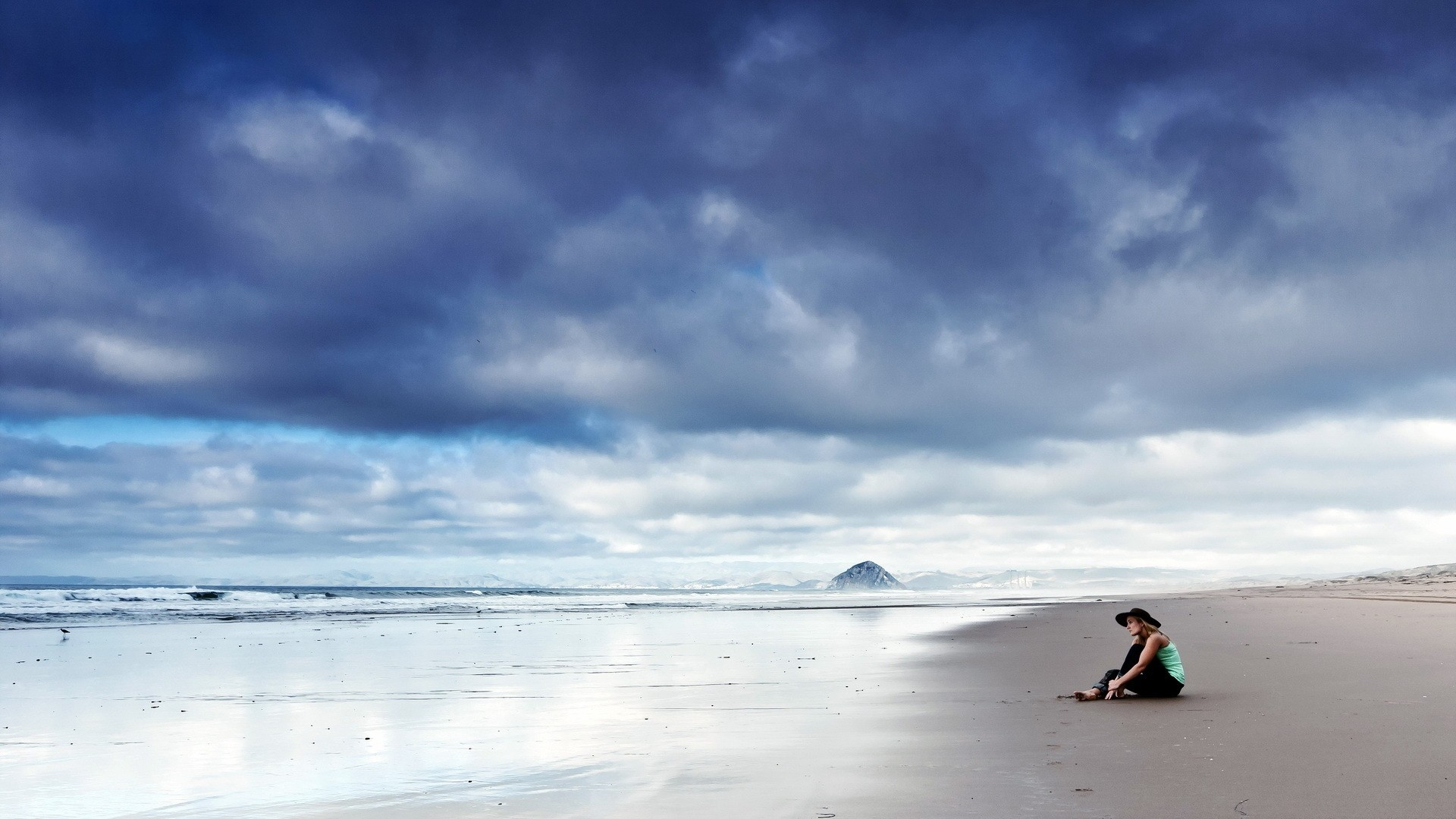 Sad and lonely wallpaper 59 images - Beach girl wallpaper hd ...