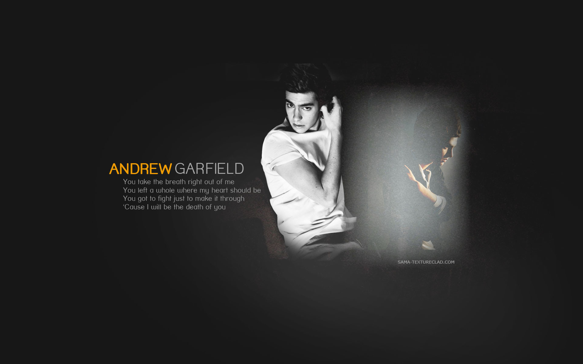 1920x1200 Andrew Garfield Wallpaper by textureclad Andrew Garfield Wallpaper by  textureclad