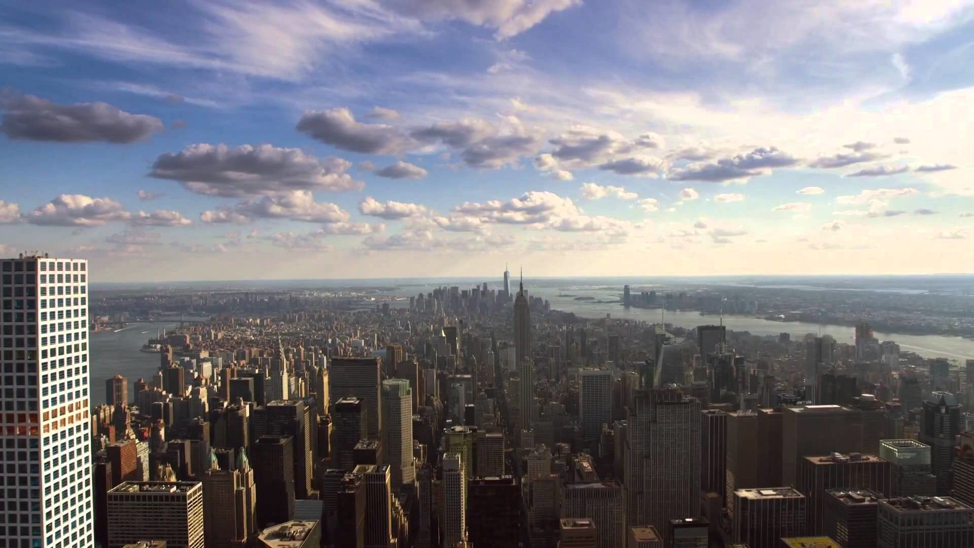 1920x1080 Apple TV 4 Aerial Screensaver - New York City (Day) + Download - YouTube