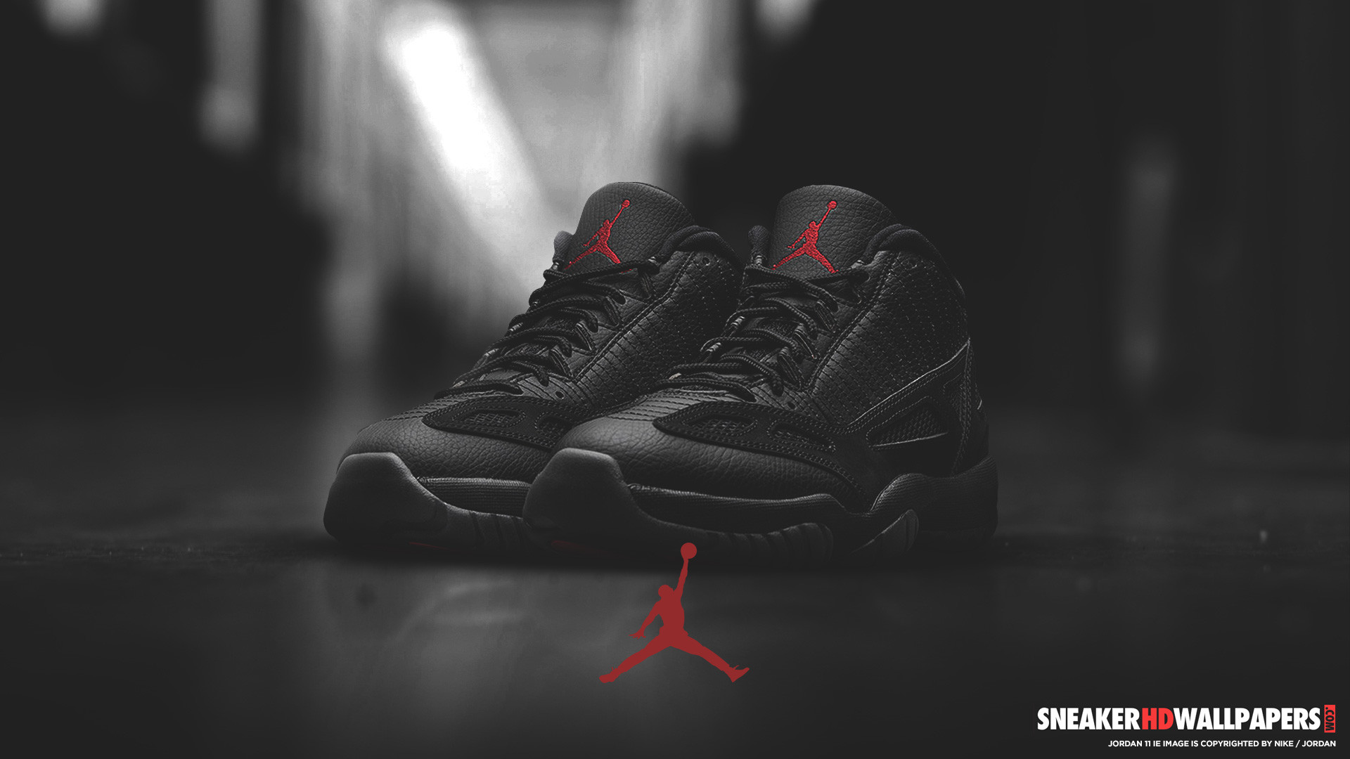 1920x1080 Download link: Air Jordan 11 IE Referee HD wallpaper
