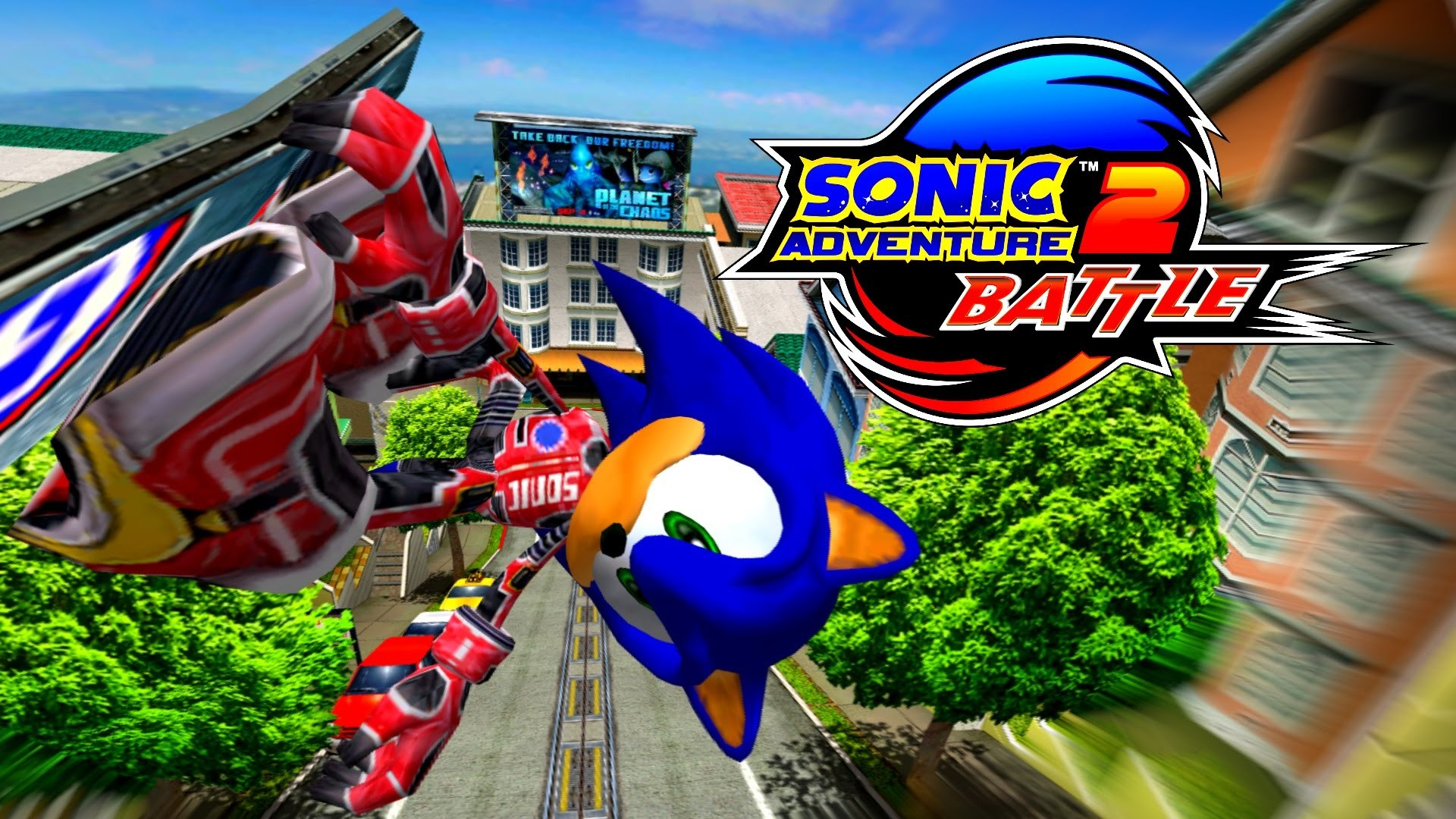 1920x1080 Sonic Adventure 2: Battle - City Escape - Sonic (No HUD) [REAL Full HD,  Widescreen] 60 FPS - YouTube