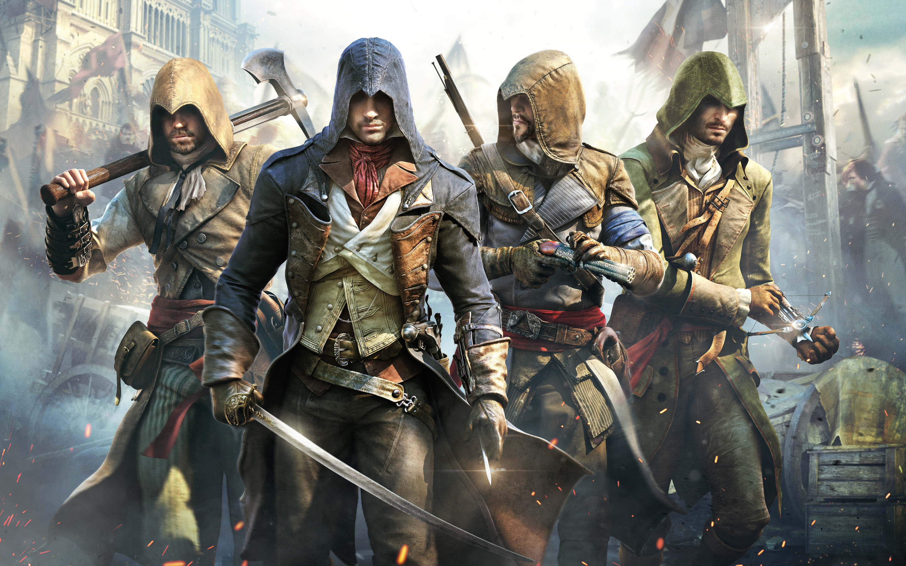 2880x1800 Assassins Creed Unity Wallpaper HD 40775