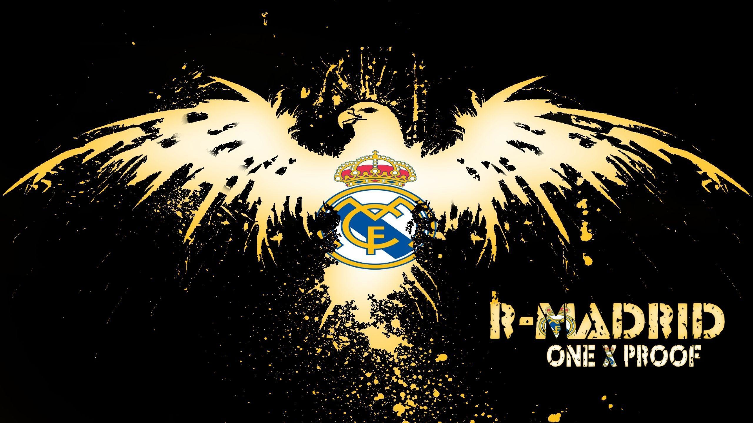 2560x1440 Logo Cr7 Real Madrid Wallpapers