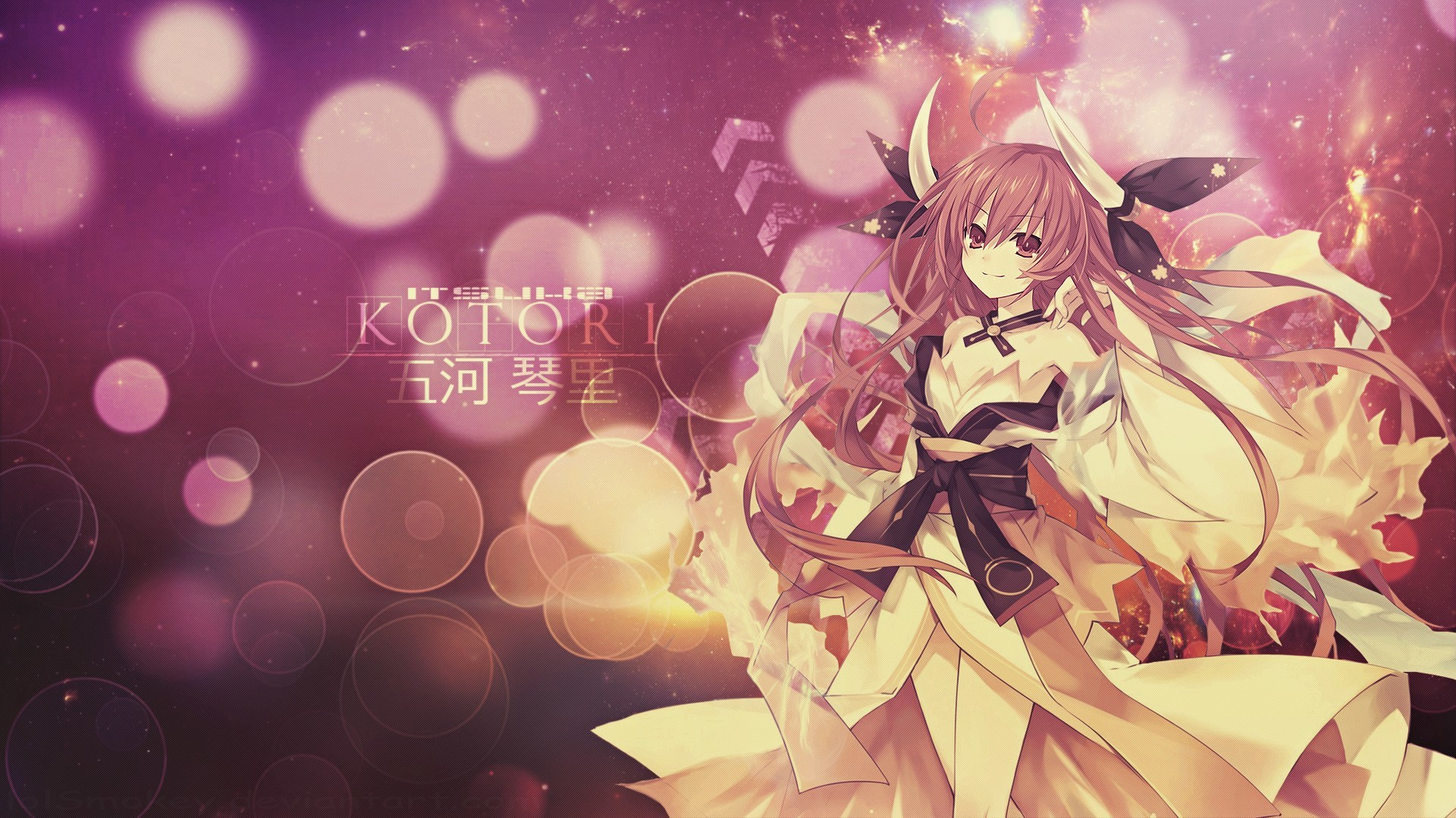 1920x1080 DeviantArt: More Like Date A Live - Yoshino Wallpaper by lolSmokey
