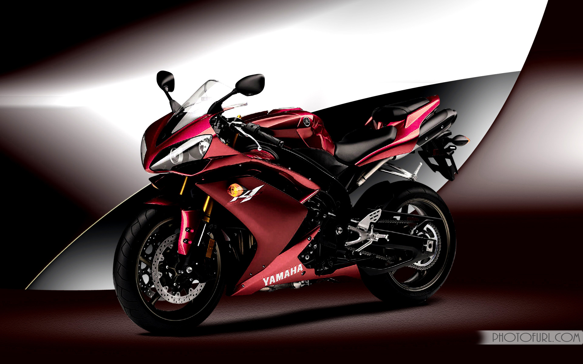 Sport Bike Black And Red Wallpaper: Yamaha R1 Wallpapers (70+ Images
