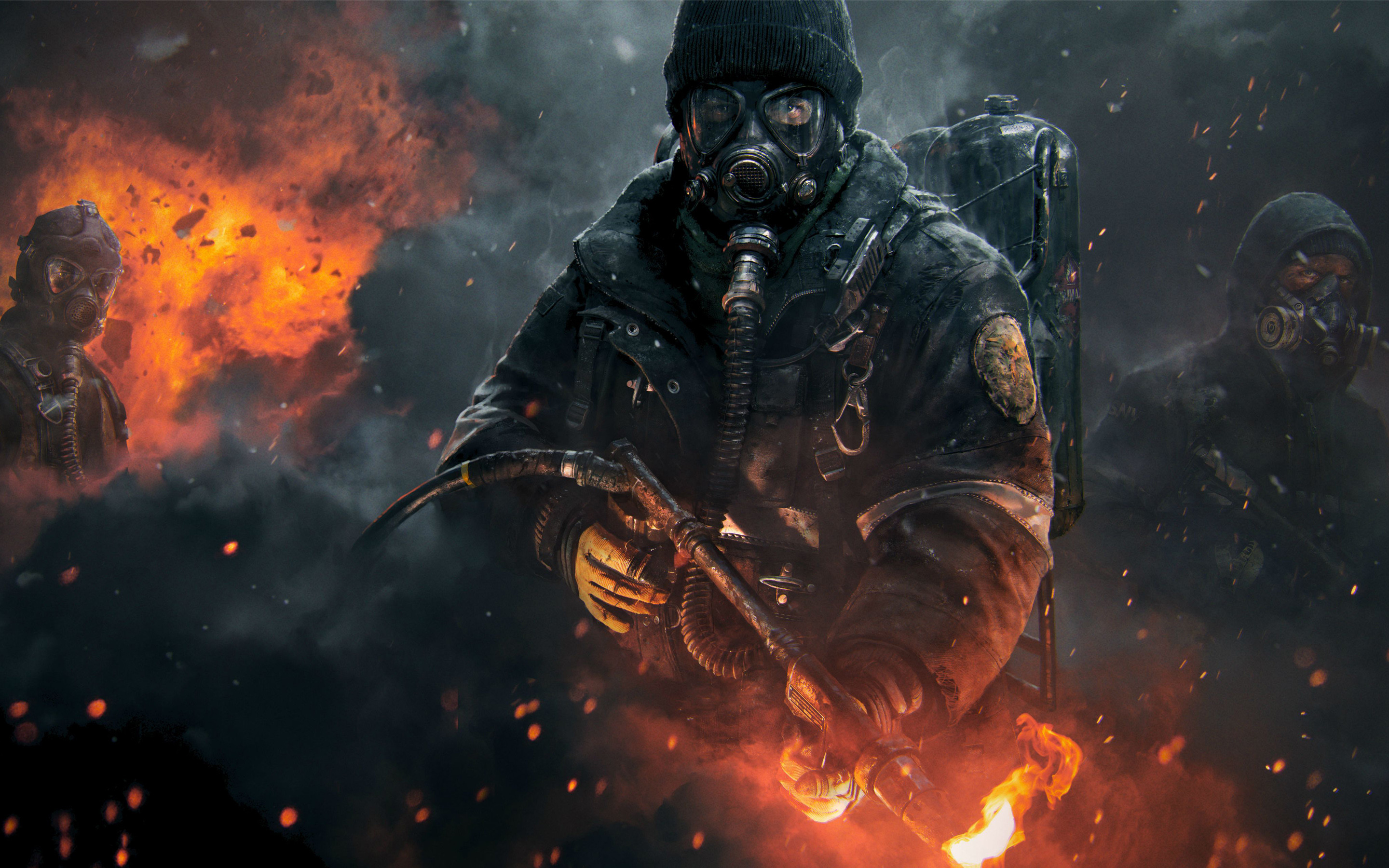 "2880x1800 The Division - Official ""Dark Zone"" Gameplay Trailer - 2015. Find this Pin  and more on HD Desktop Wallpapers ..."