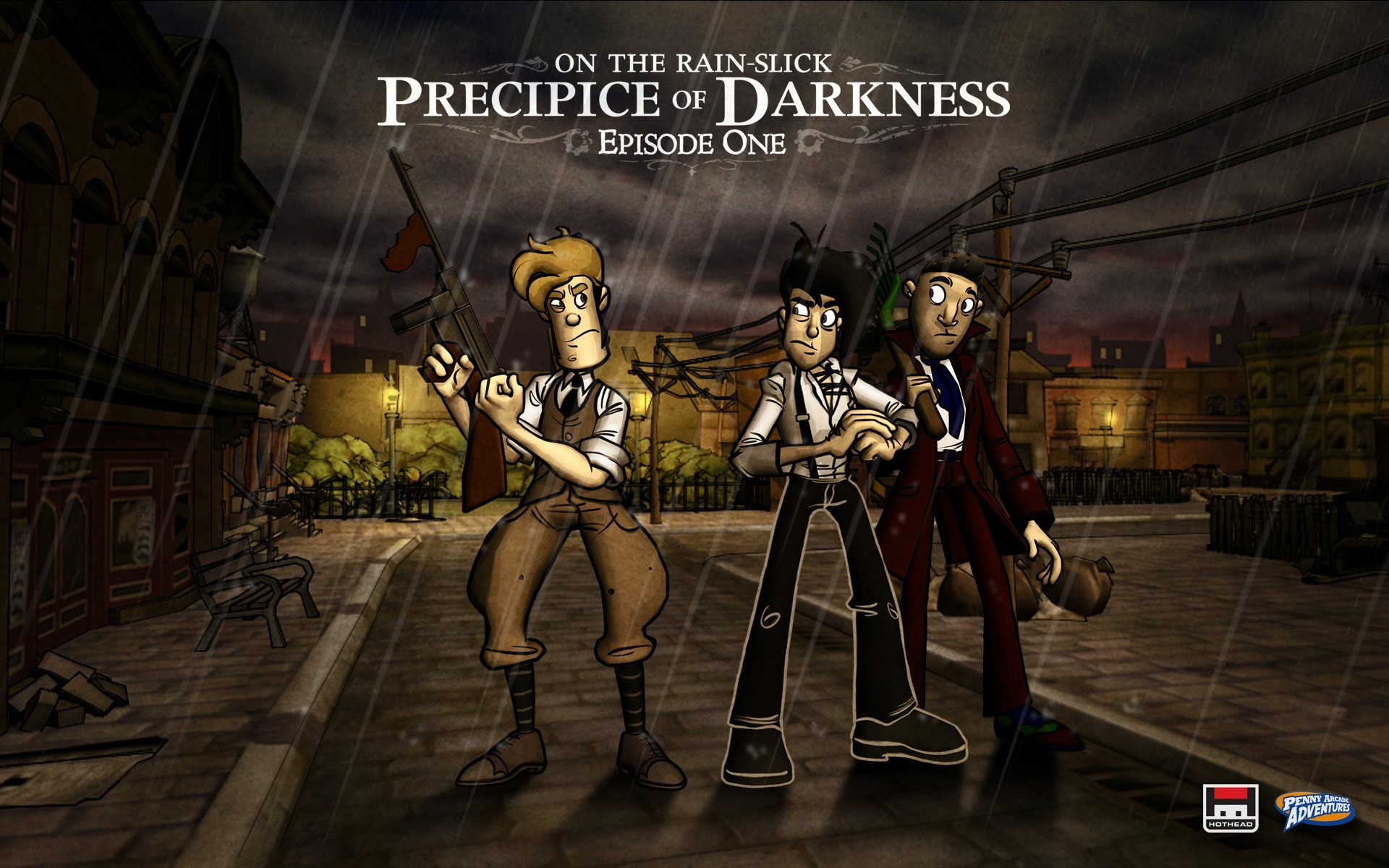 1920x1200  Penny Arcade Adventures: On the Rain-Slick Precipice of Darkness  game wallpaper
