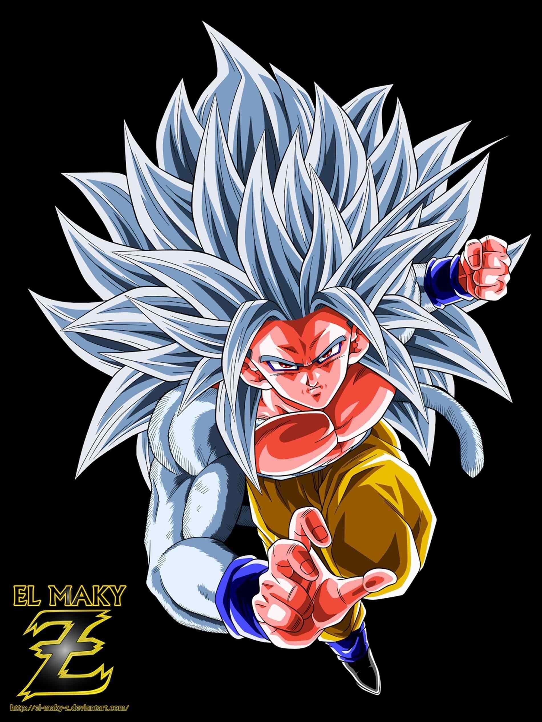 Goku Ss4 Wallpaper 75 Images