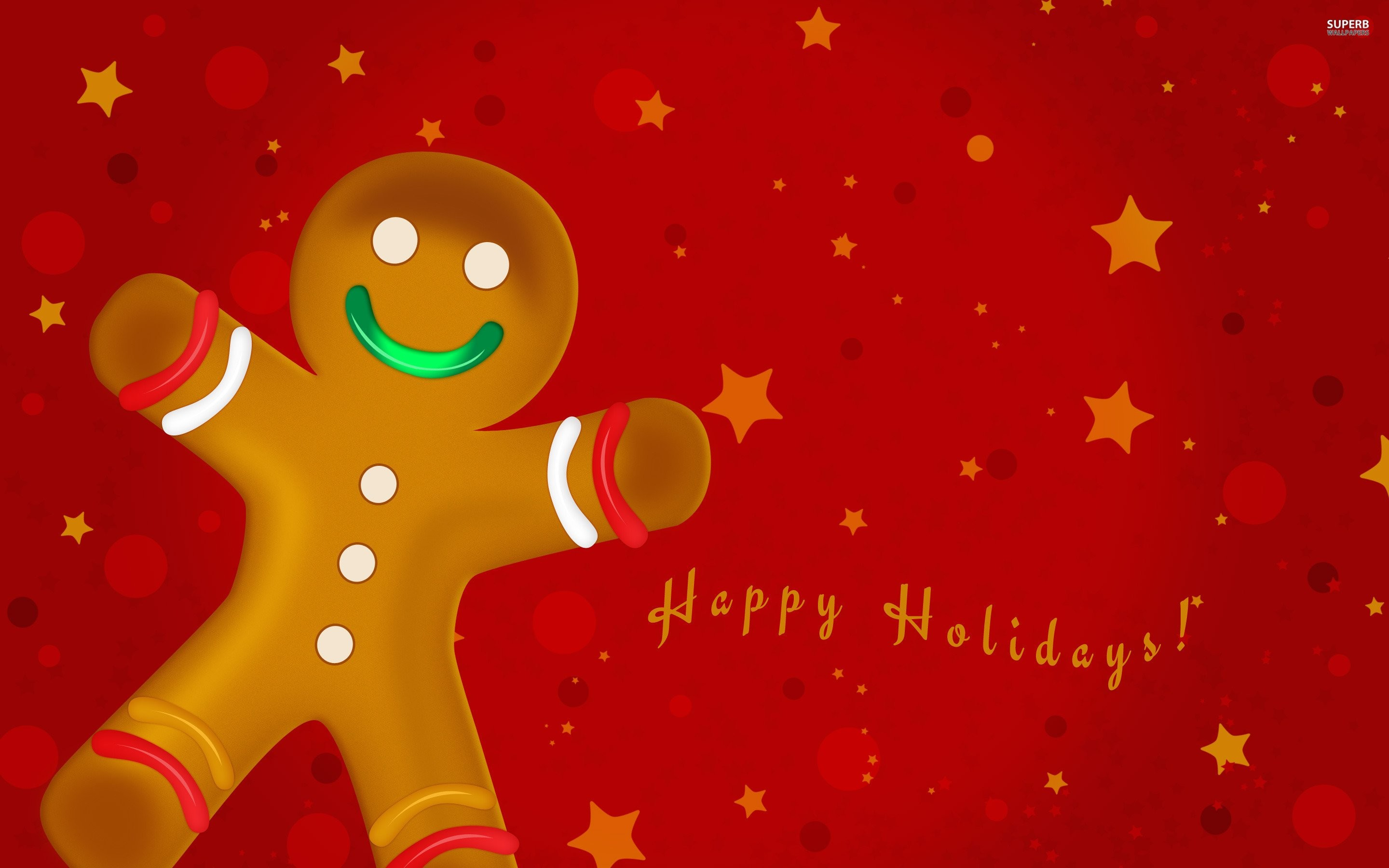 2880x1800 Christmas Gingerbread Wallpaper – Wallpaper Free Download