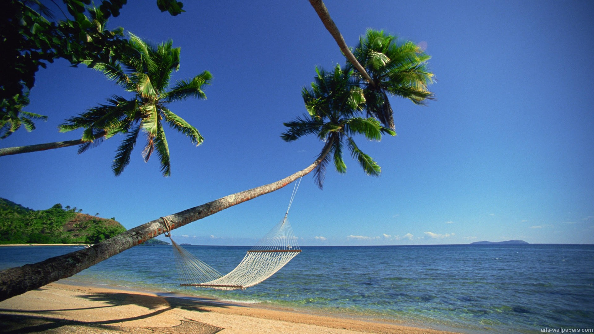 1920x1080 Tropical Beach Hammock Hd Wallpapers Lzamgs px