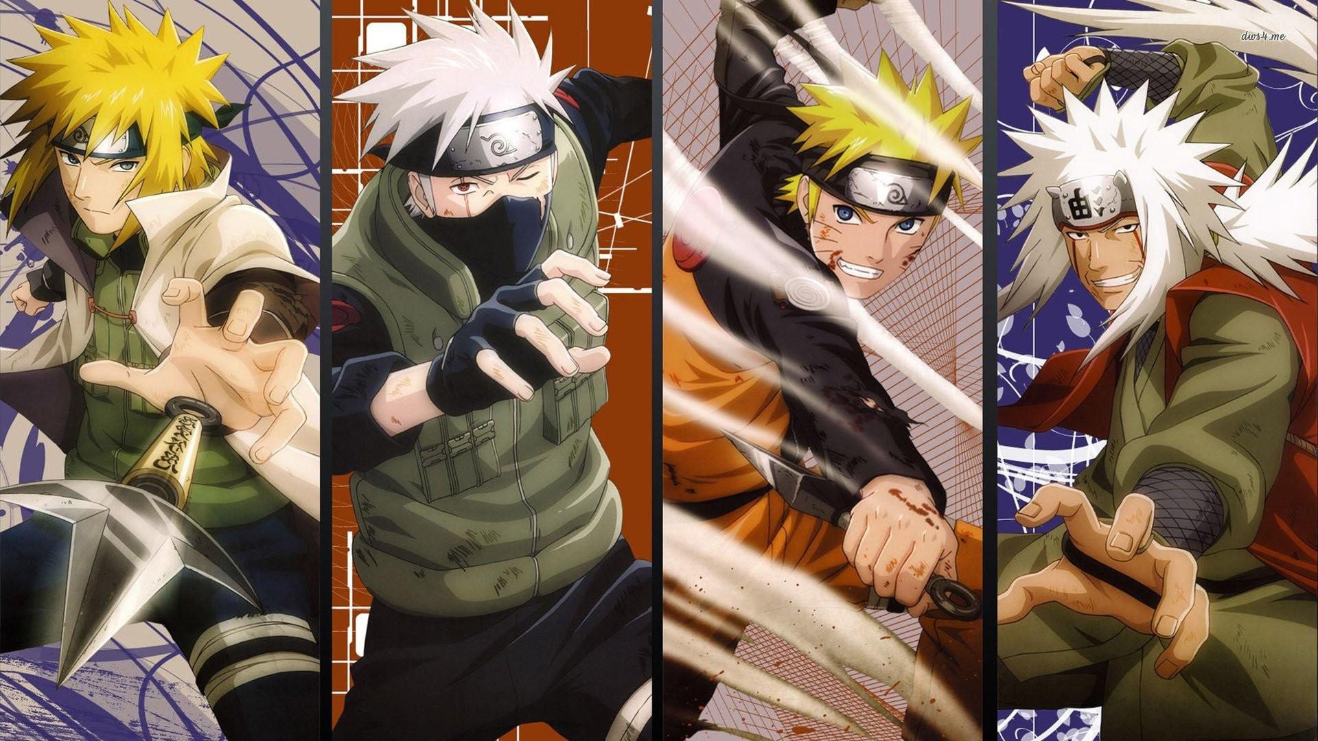 Naruto Characters In Real World Background Wallpaper: Wallpapers Of Naruto Characters (57+ Images