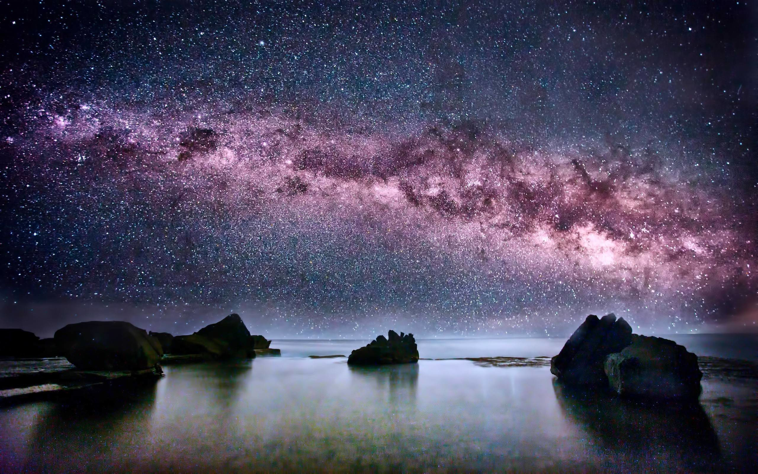 Milky Way Screensaver and Wallpaper (69+ images)