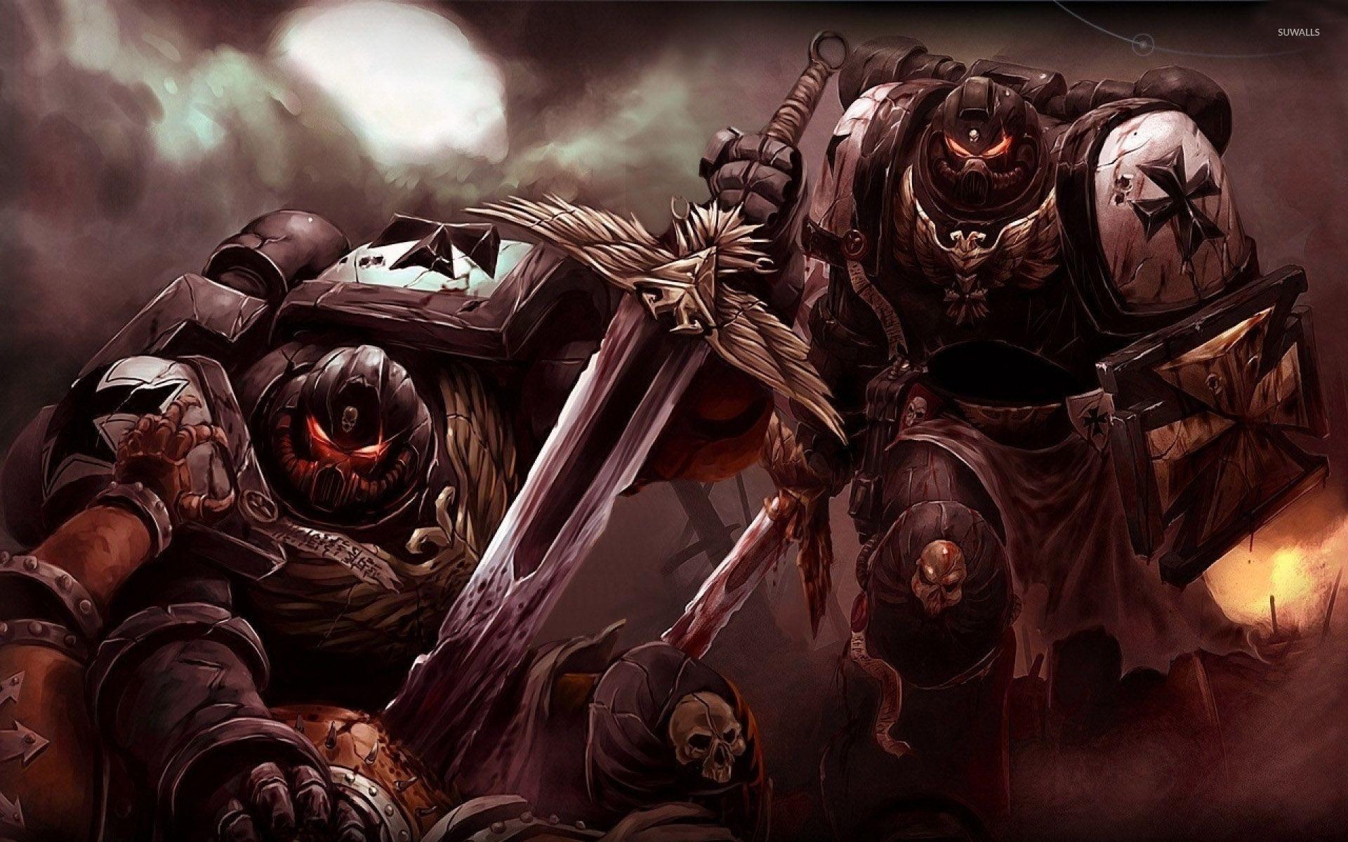 Warhammer 40k death company wallpaper - 1920x1200 Black Templars Warhammer 40 000 Wallpaper Game Wallpapers 30103