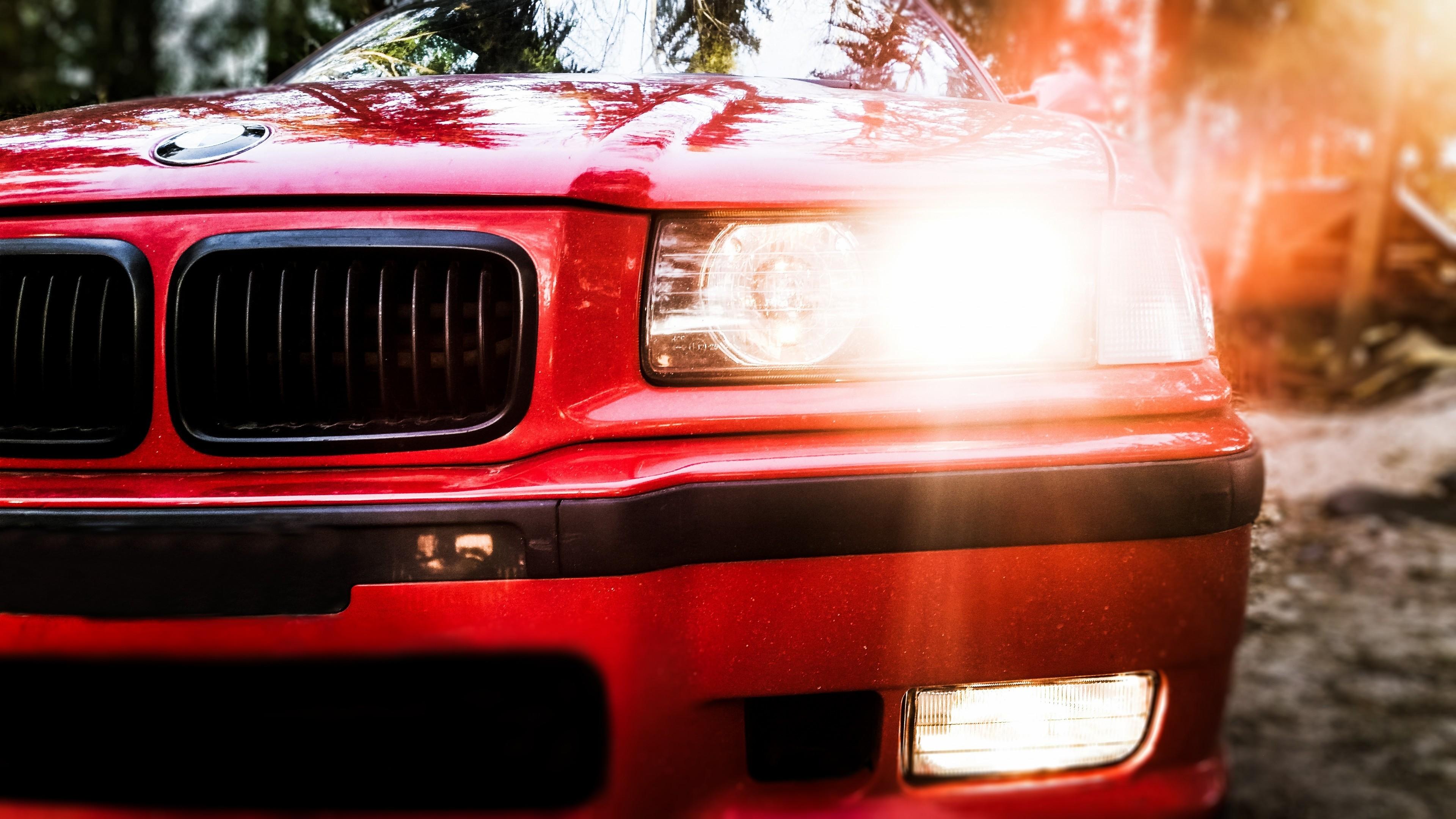 1920x1080 BMW E36 328I Cabrio Back Blue Fire Abstract