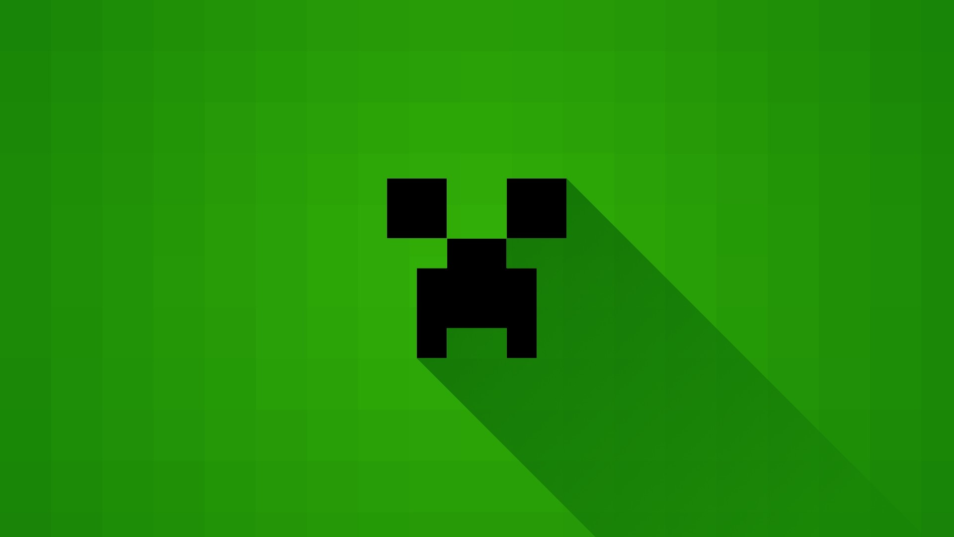 1920x1080 Minecraft Creeper Wallpaper