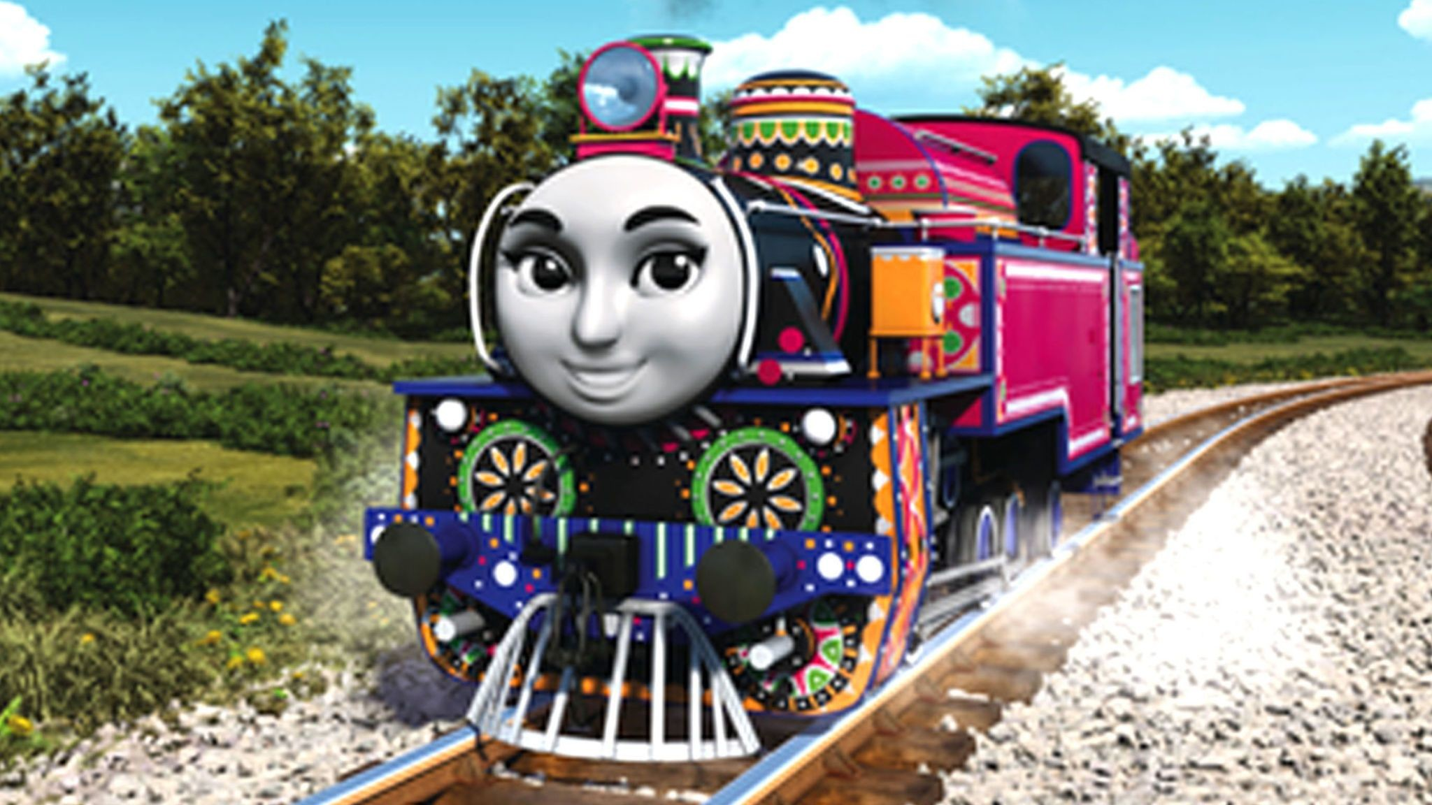2048x1152 Thomas the Tank Engine gets multicultural makeover