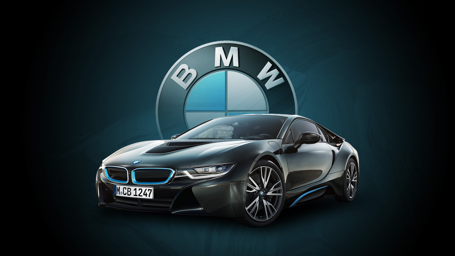 1920x1080 Bmw i8 pictures.