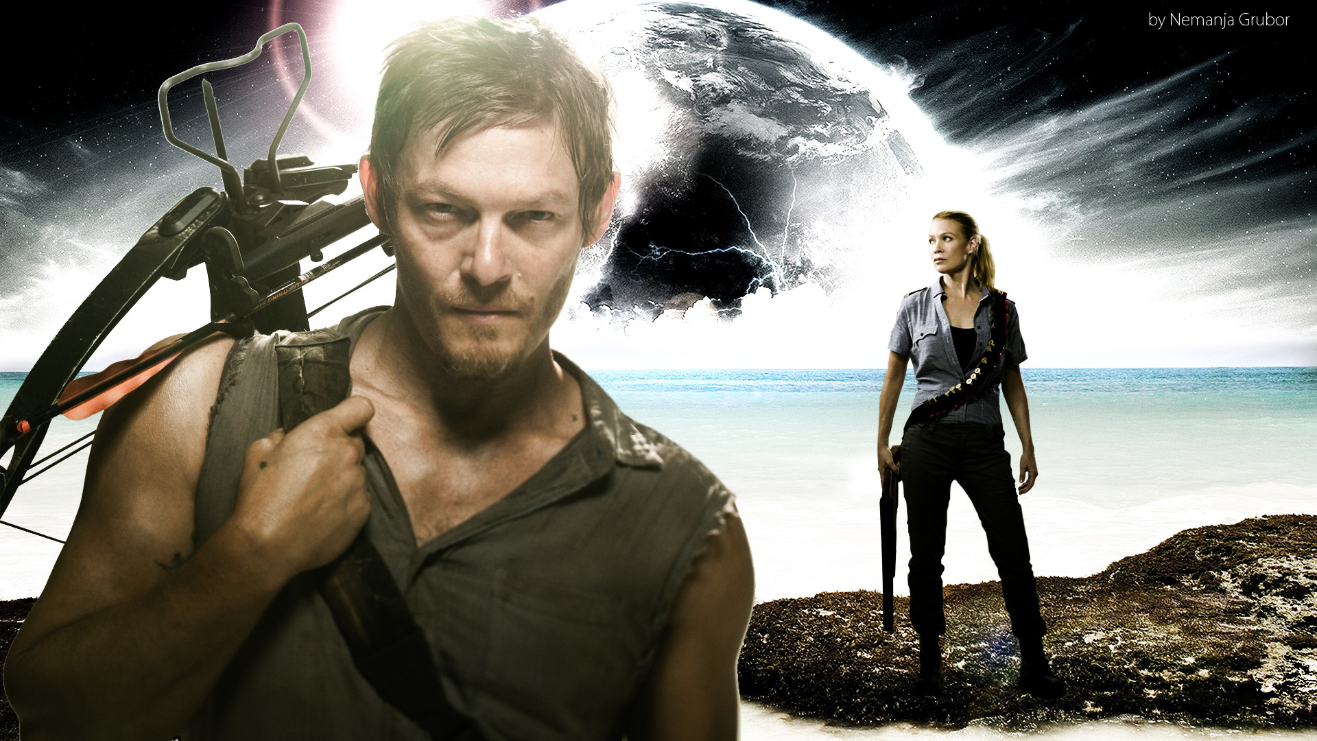1920x1080 Walking Dead No Way Out Preview