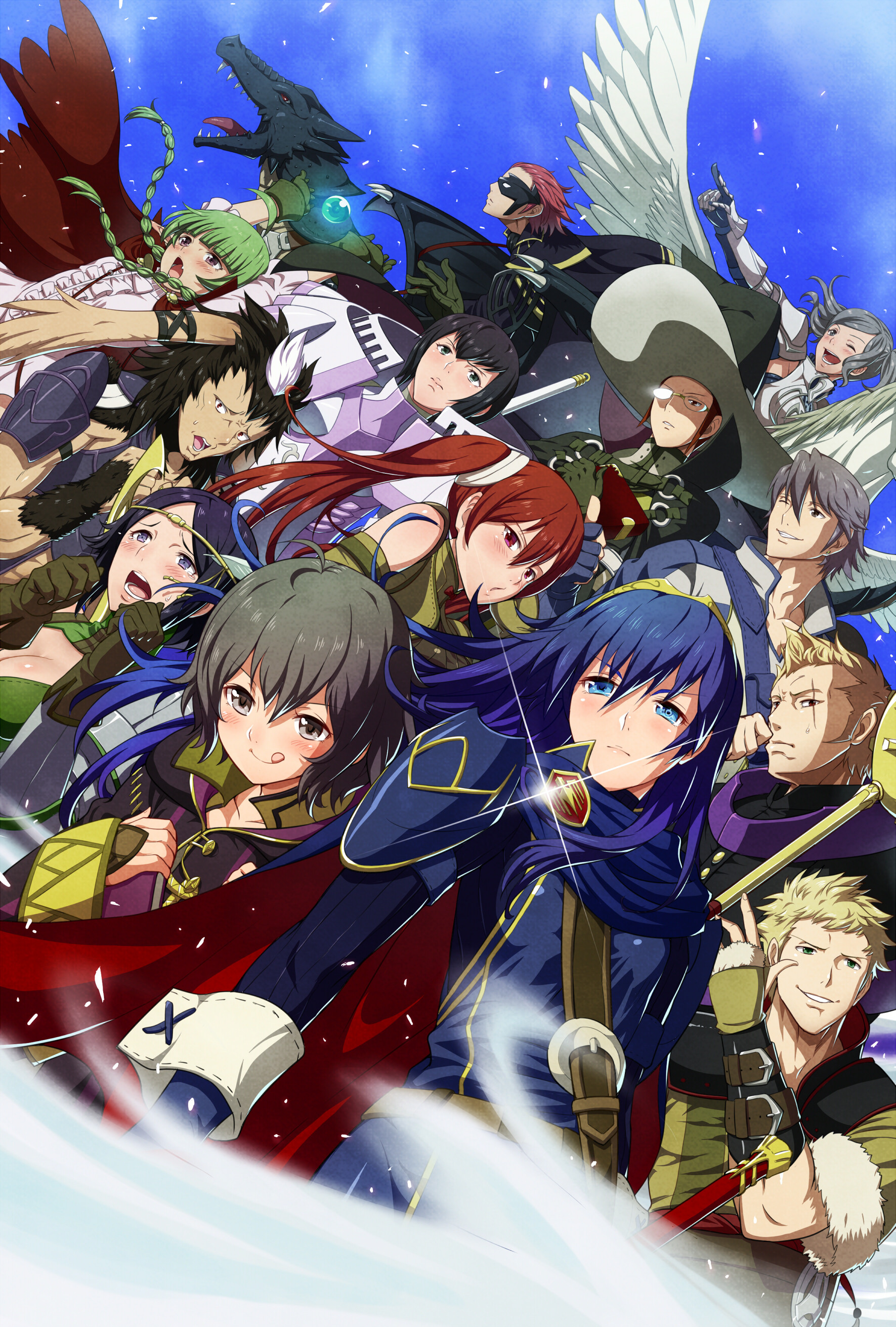 1771x2622 Fire Emblem: Awakening Children characters~ This looks so epic! I'm not
